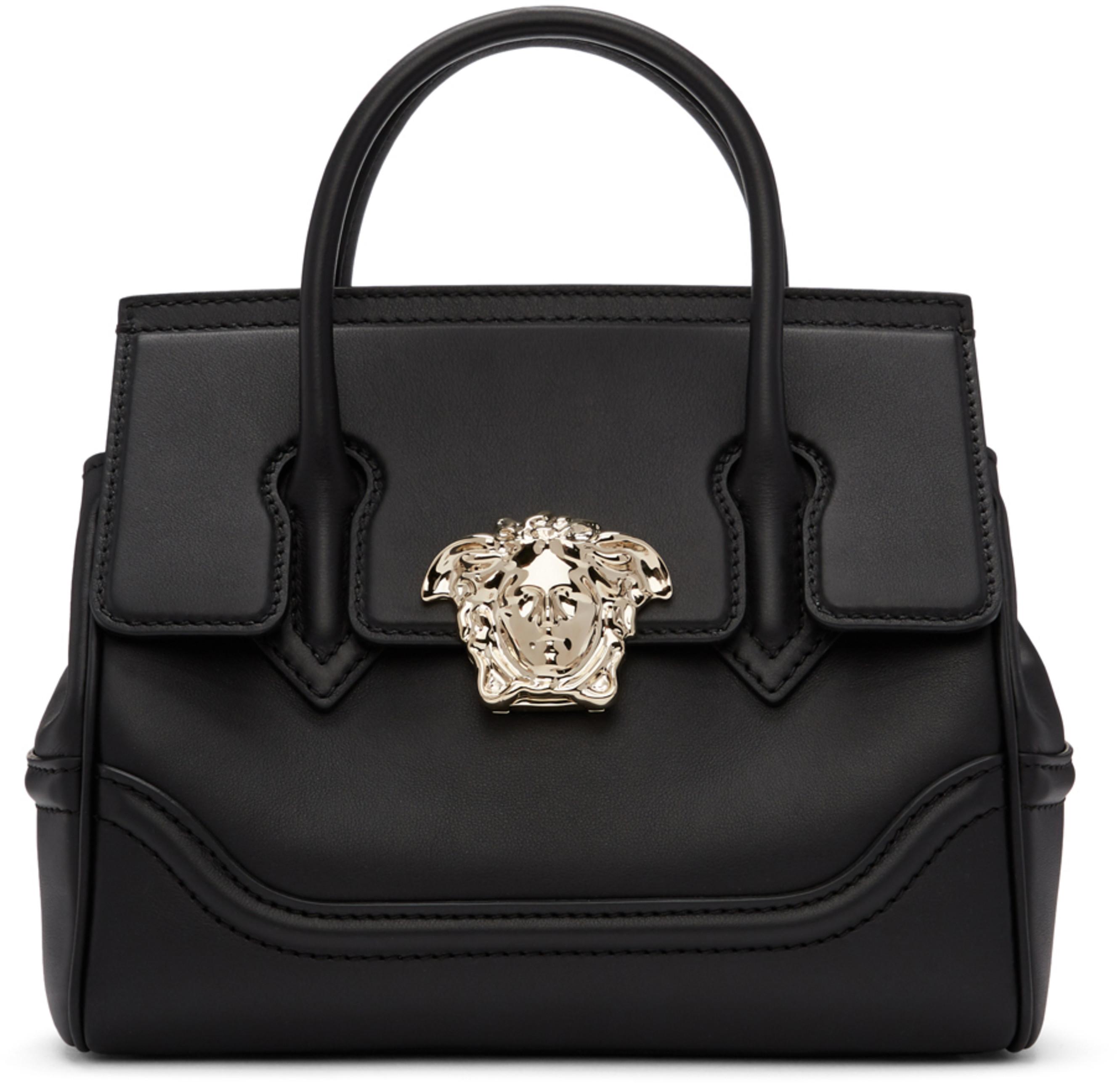 3c6b99c3acf0 Black   Gold Medium Empire Bag