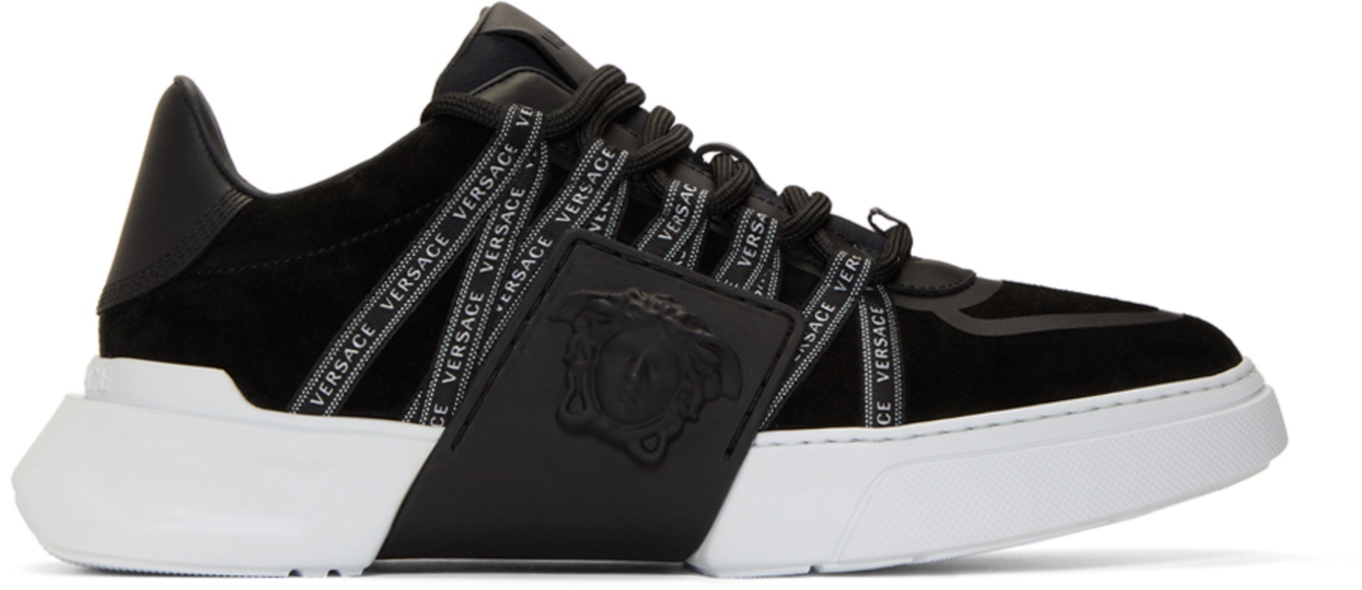 f91796f8db Versace shoes for Men | SSENSE Canada