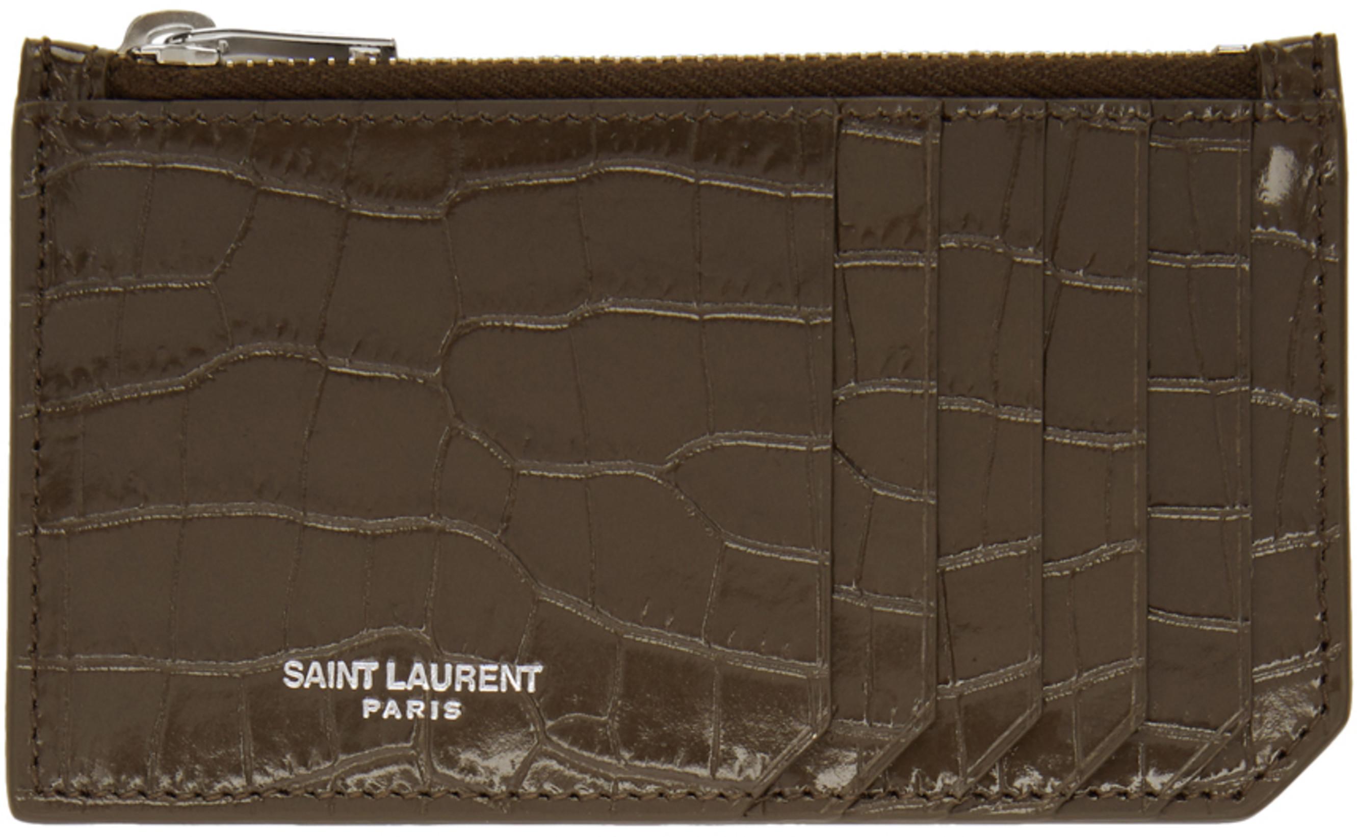 ed22e20114146 Saint Laurent wallets   card holders for Women