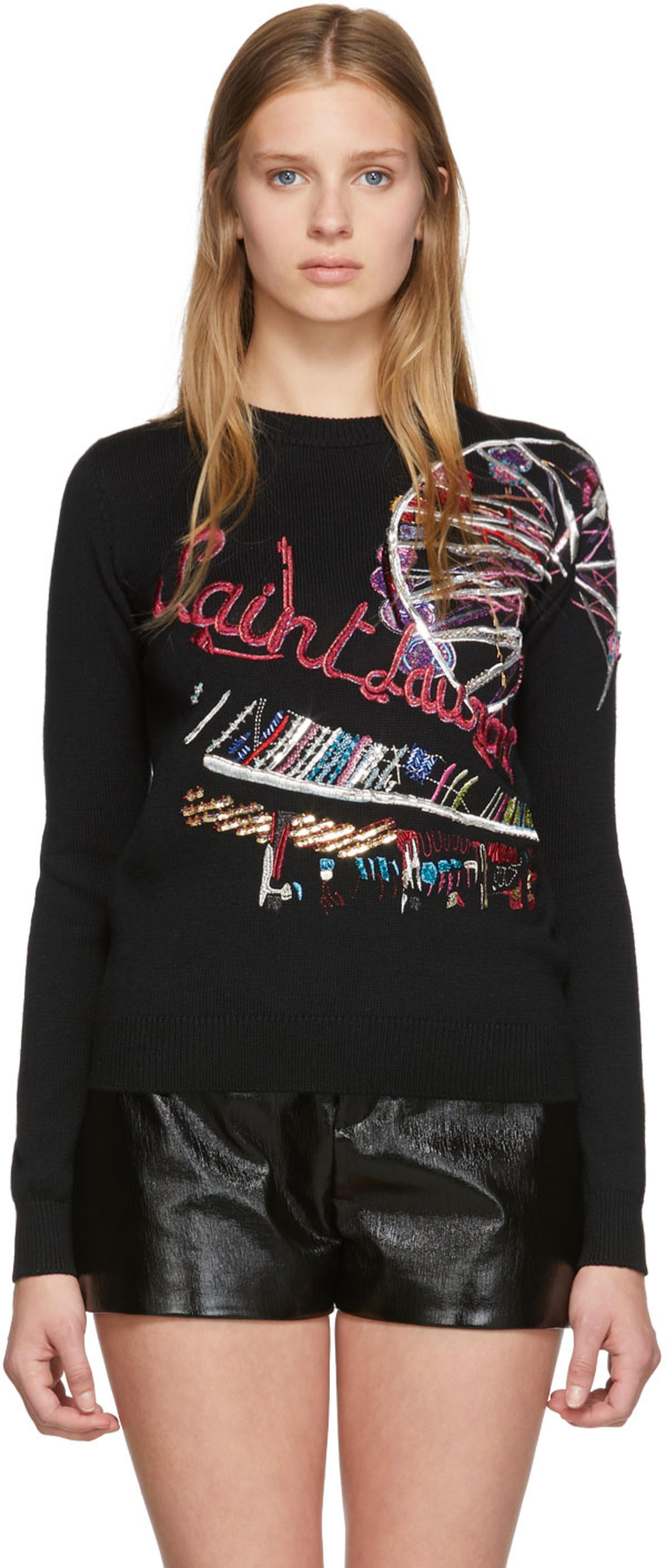 38e20cab Saint Laurent clothing for Women | SSENSE