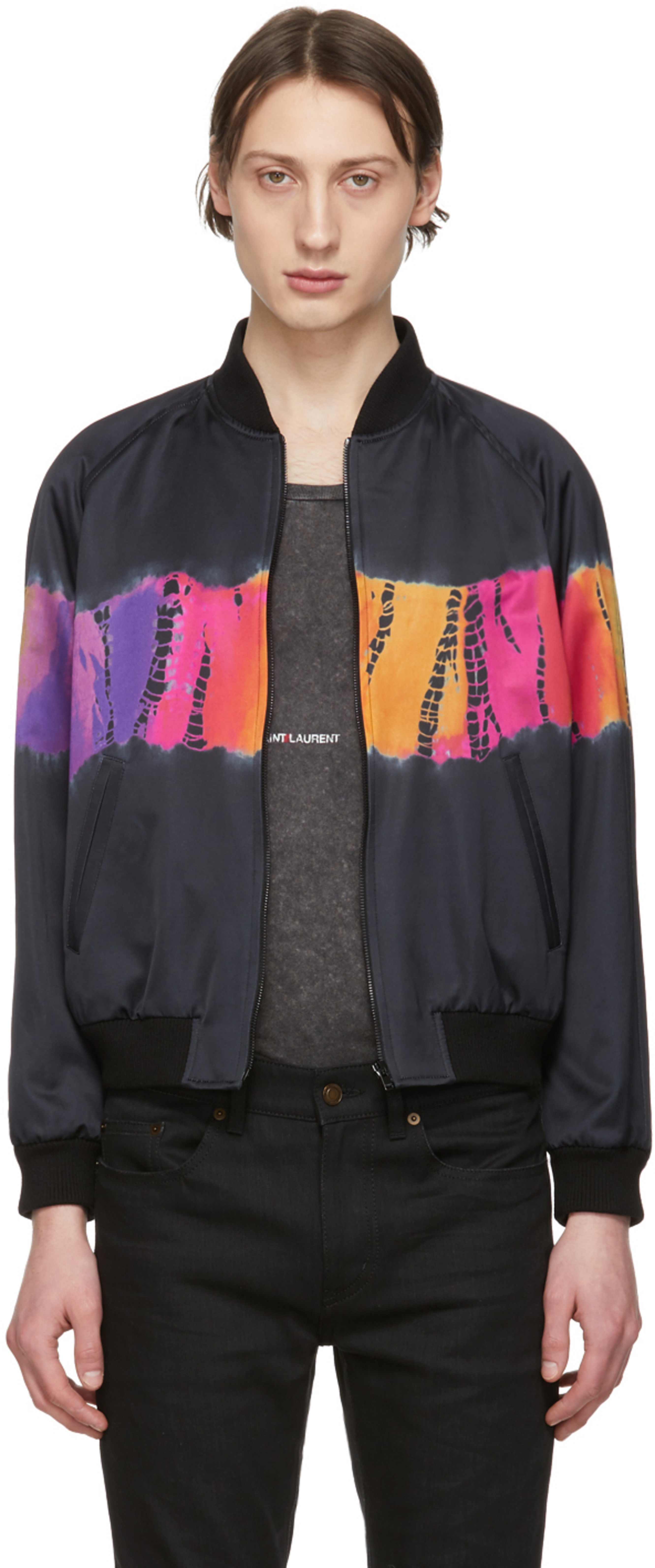 47a132d190b Saint Laurent jackets & coats for Men | SSENSE