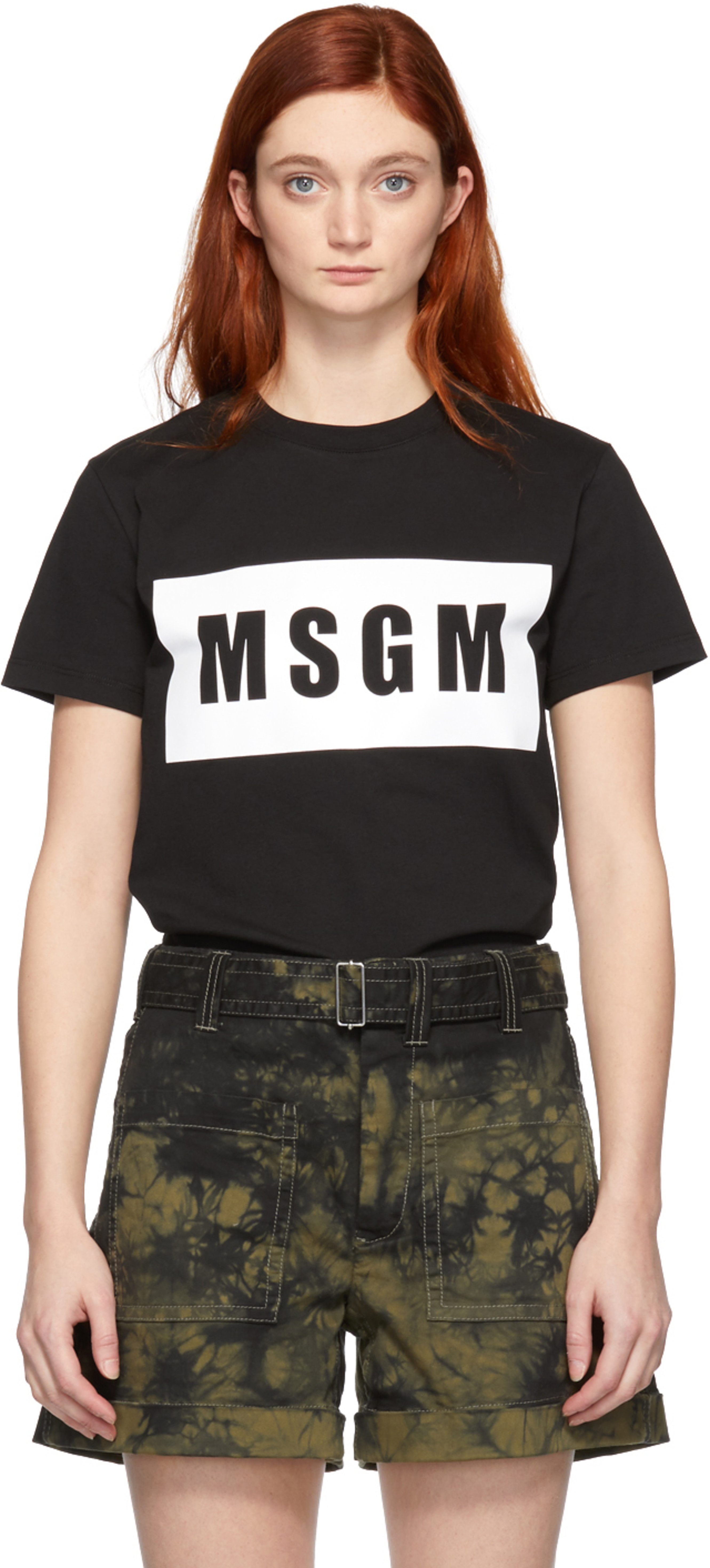4e15001604e Msgm t-shirts for Women   SSENSE UK