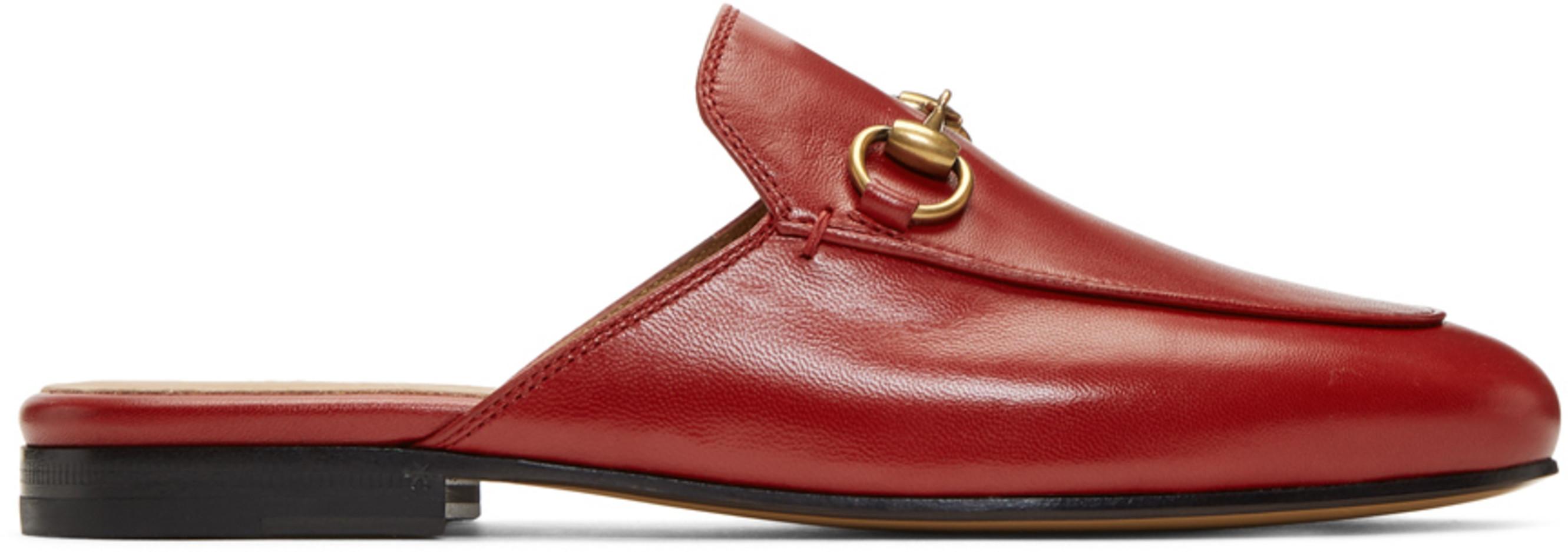 eddb55f15 Gucci slippers & loafers for Women | SSENSE Canada