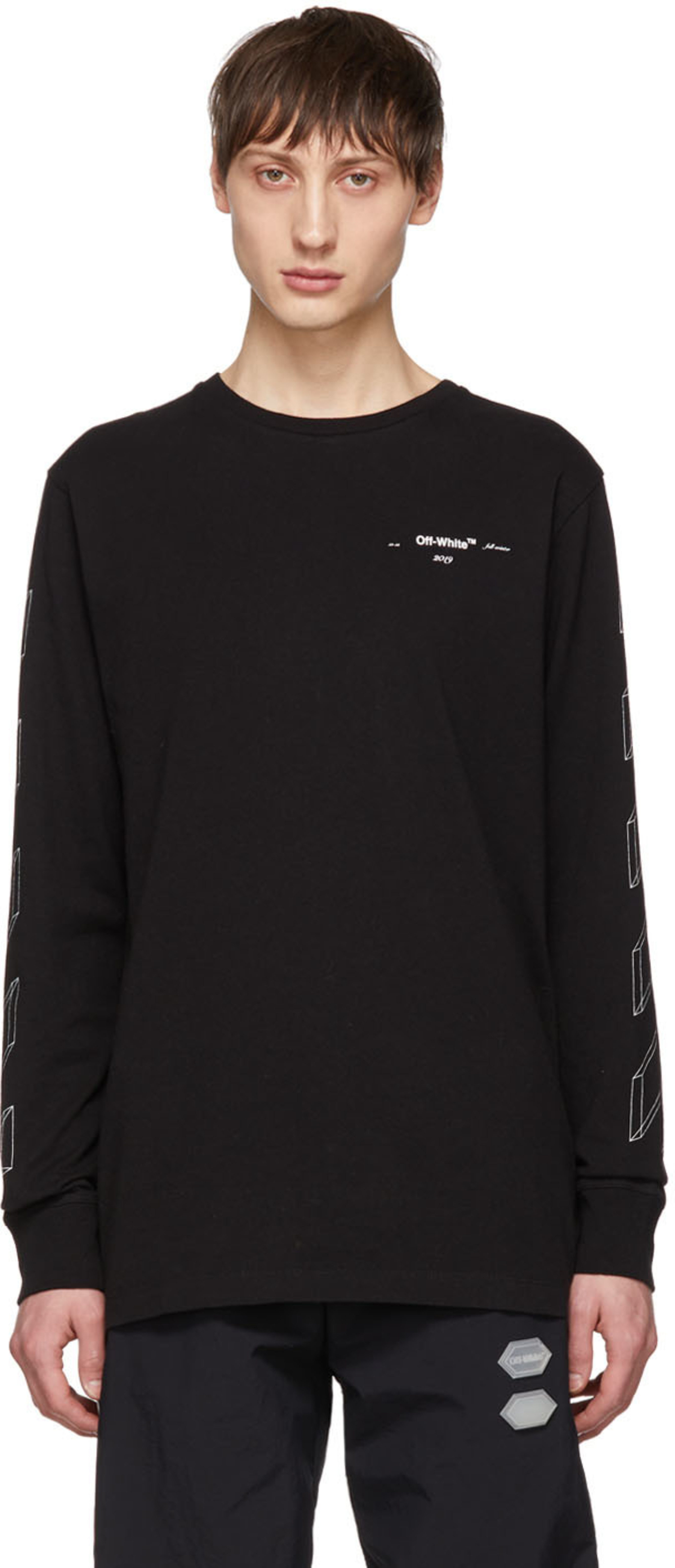 761a200c1 Off-white t-shirts for Men | SSENSE