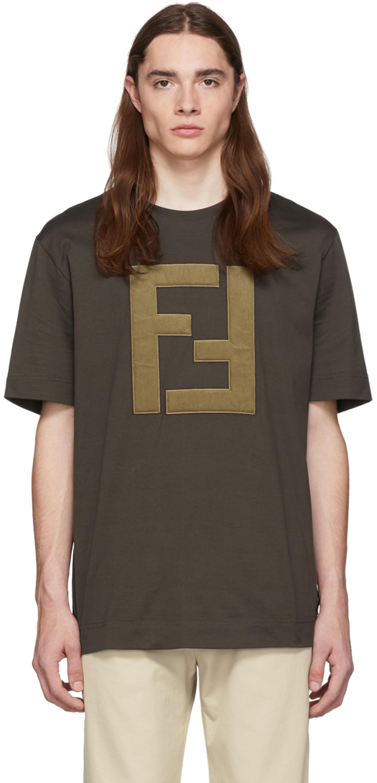 fbcf81f6 Brown Logo T-Shirt
