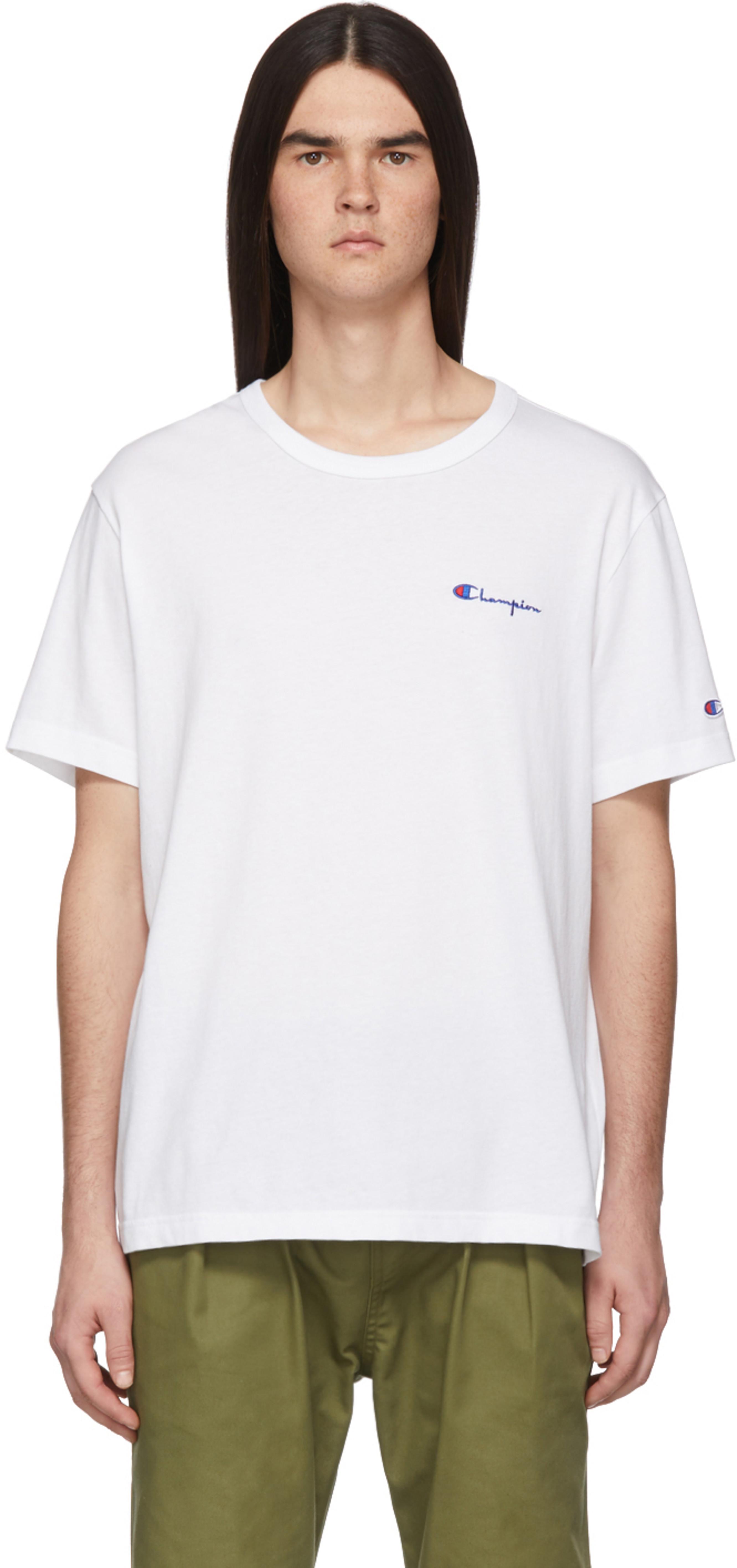 0fb0c41f8953 Champion Reverse Weave t-shirts for Men   SSENSE