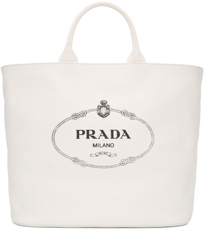 df3cfac44420a2 Prada tote bags for Women | SSENSE