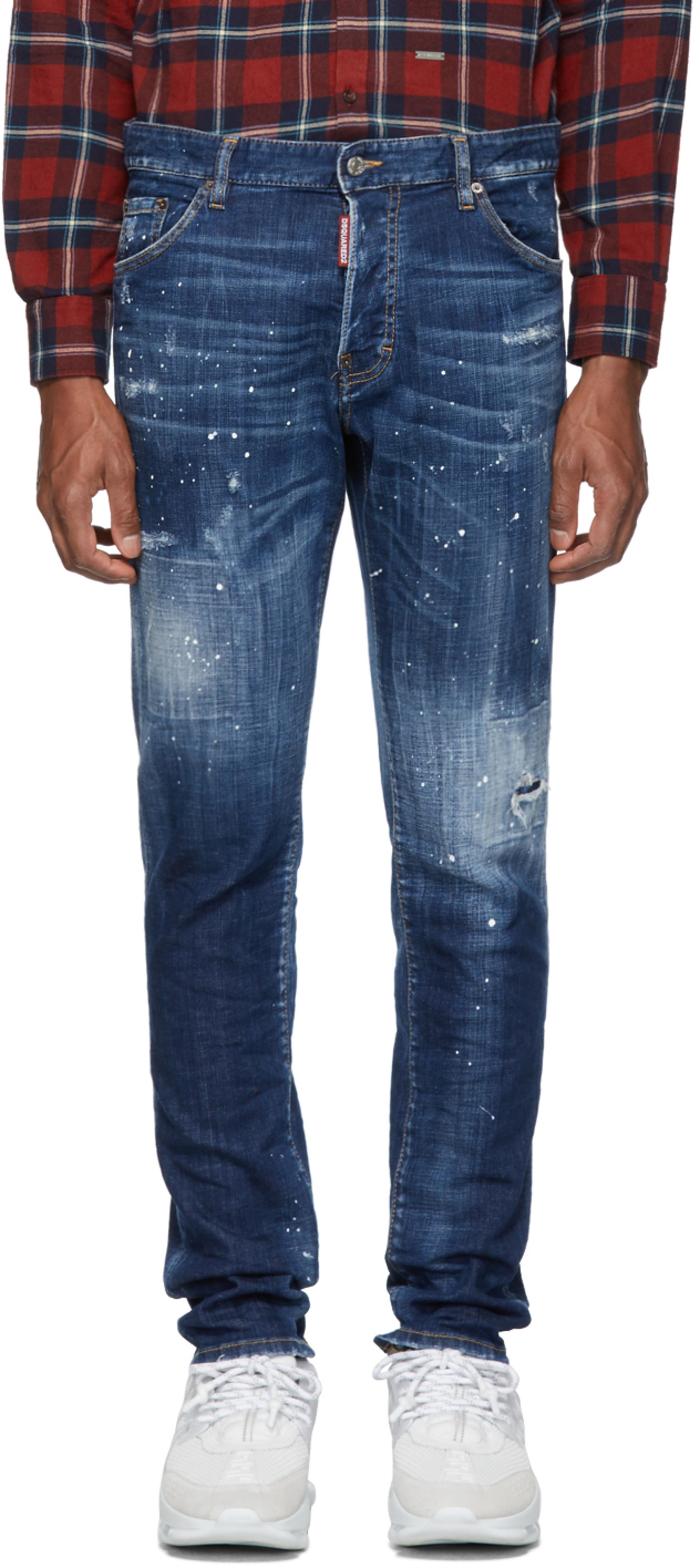 586b4086 Designer jeans for Men | SSENSE