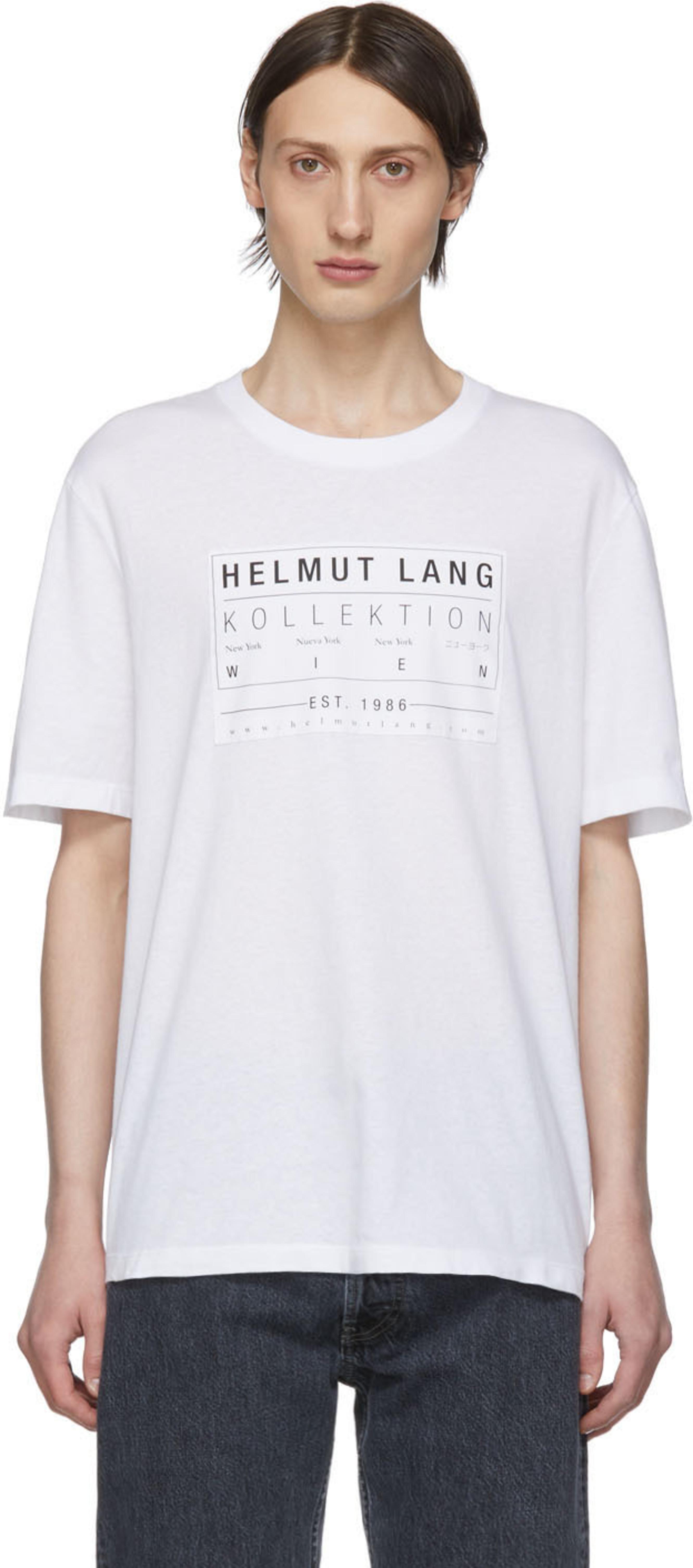 a58a603031d9 Helmut Lang t-shirts for Men   SSENSE