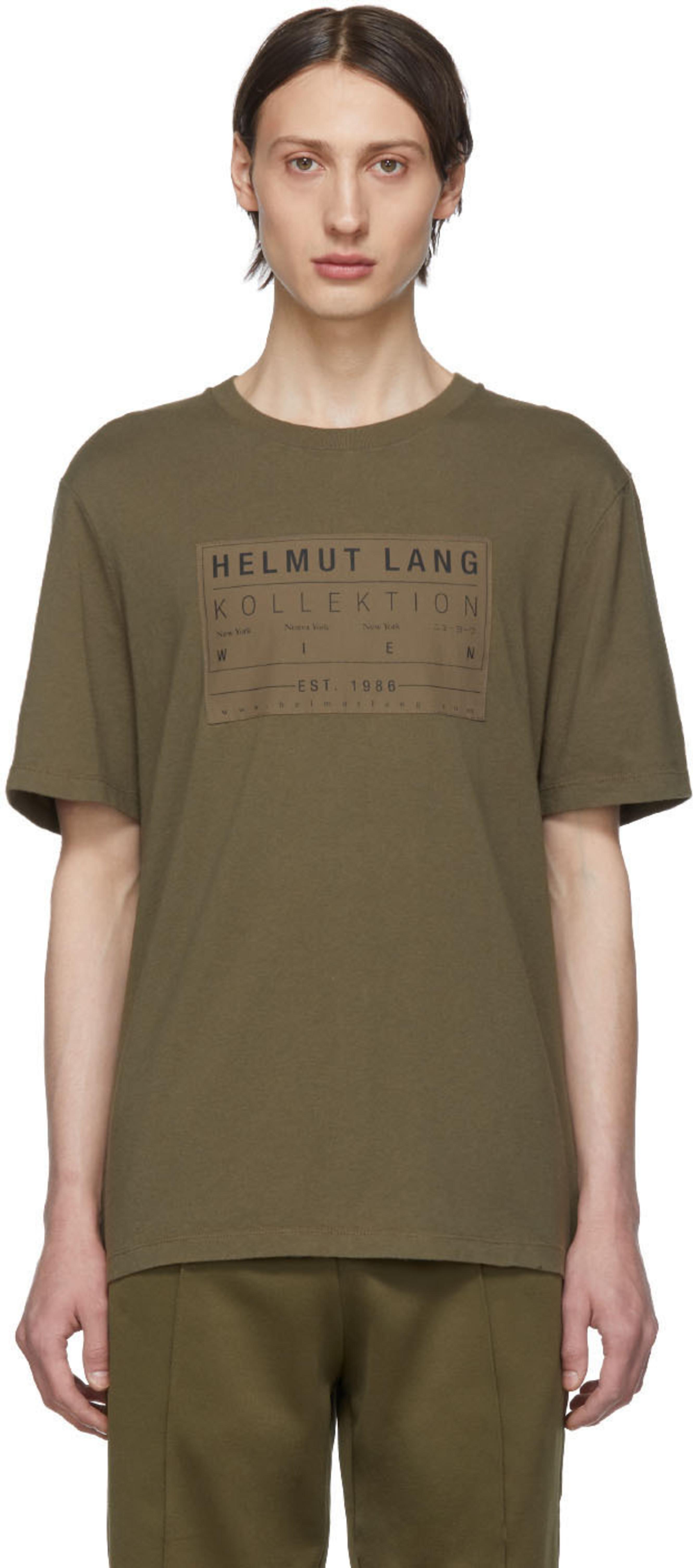 044b1a2d Helmut Lang t-shirts for Men | SSENSE