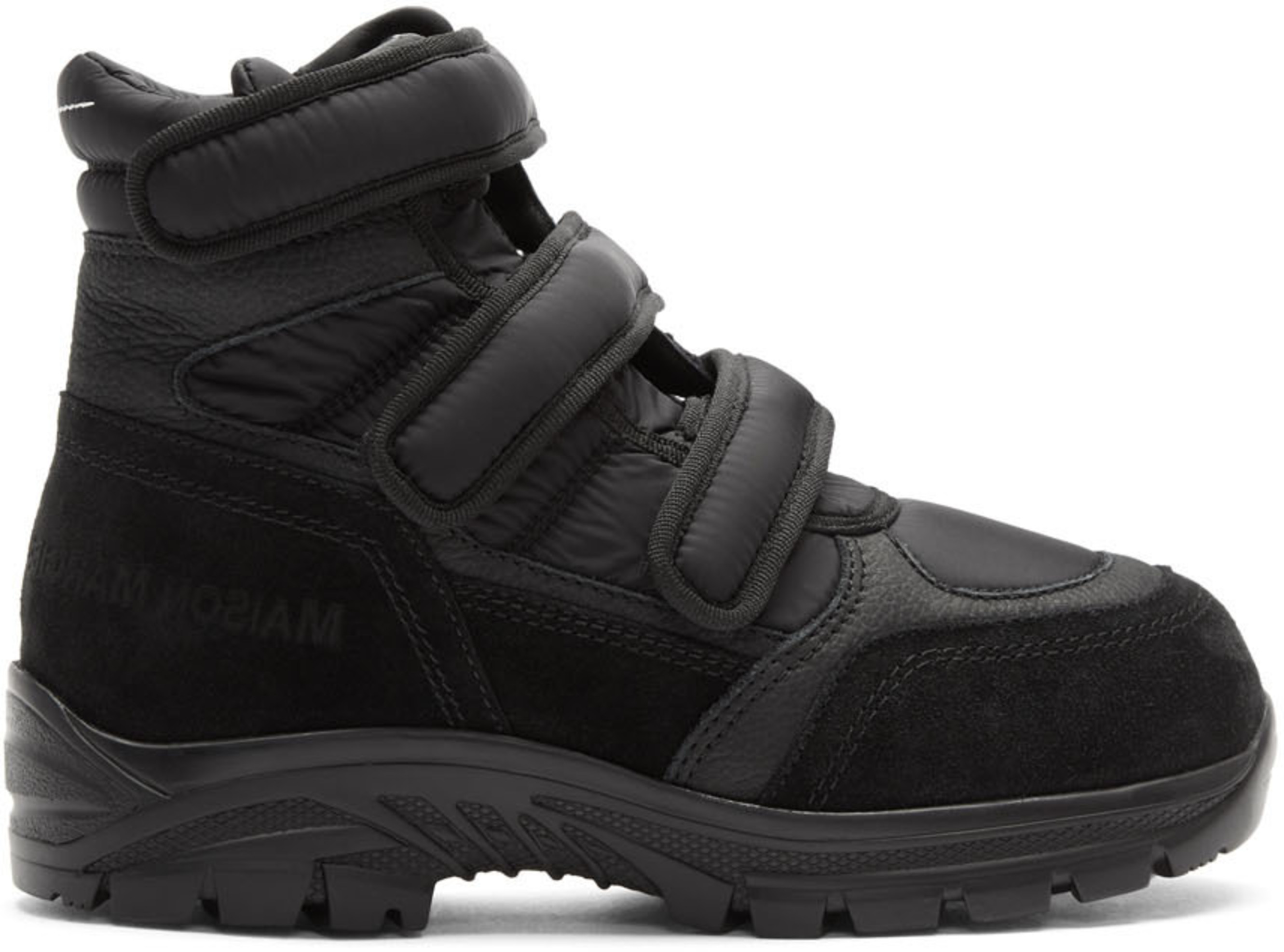 8709a179336 Black Velcro High Top Sneakers