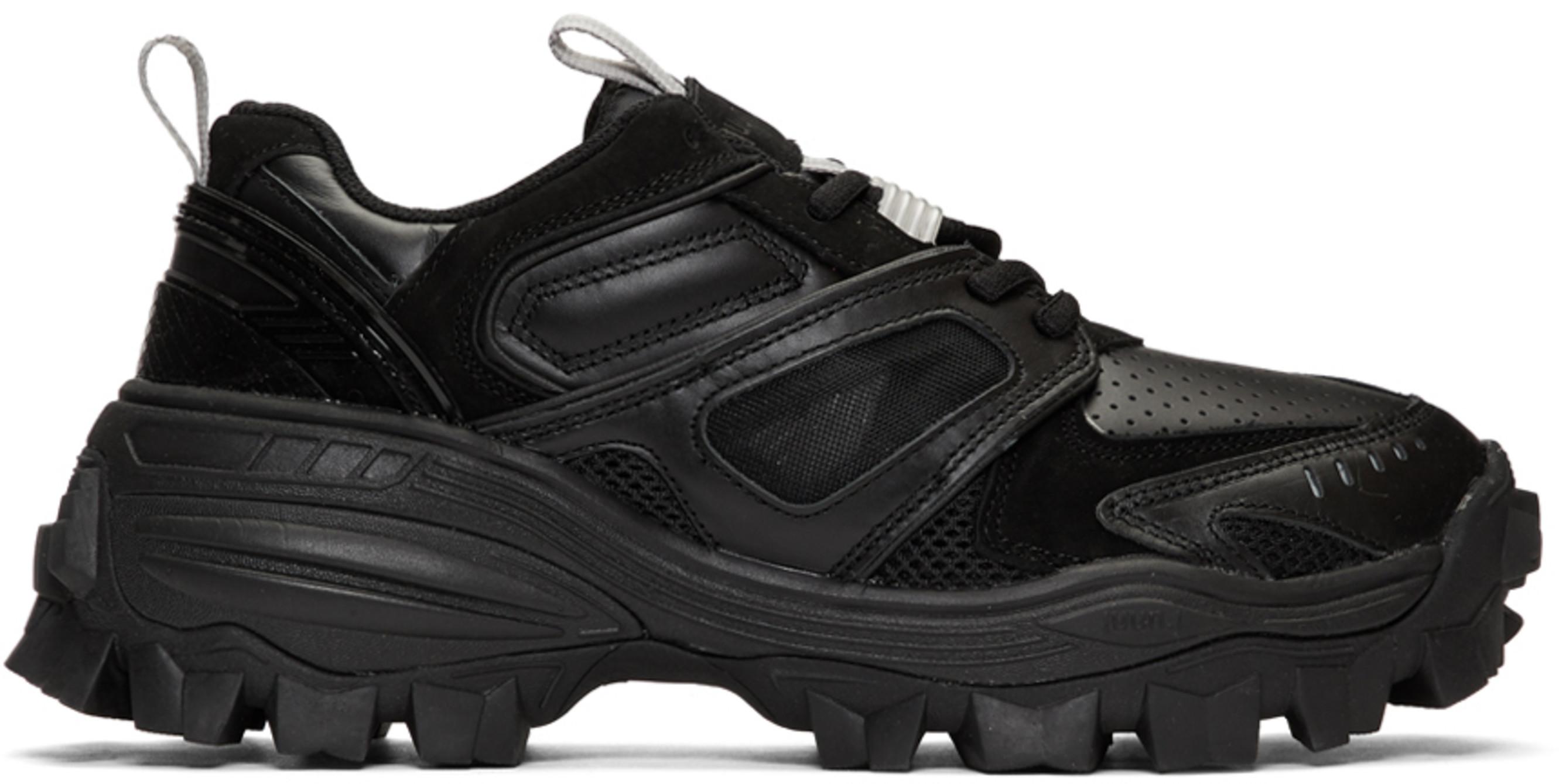2b308037 Black Treaded Sneakers