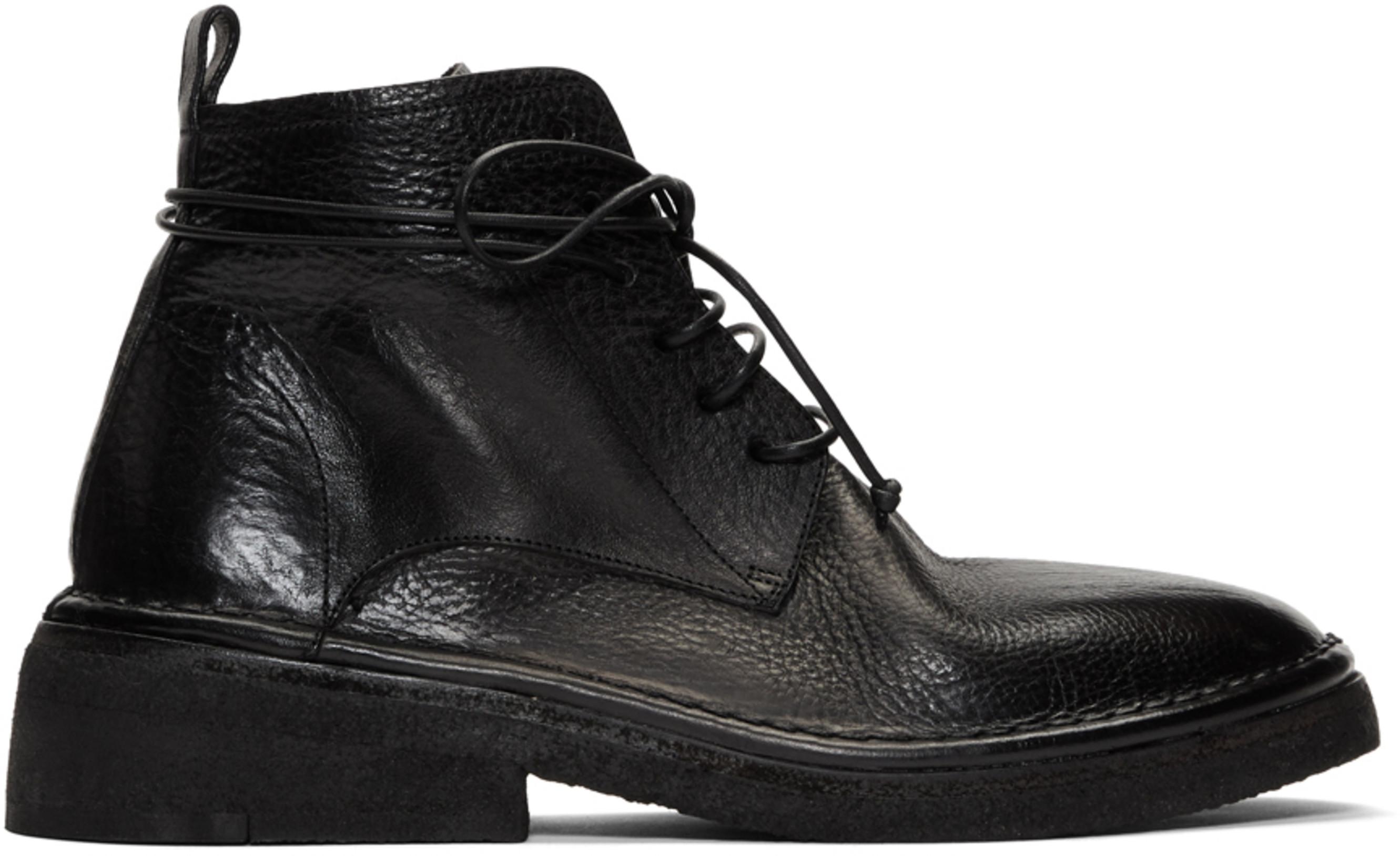 a054938b8ee Black Burraccia Anfibio Boots