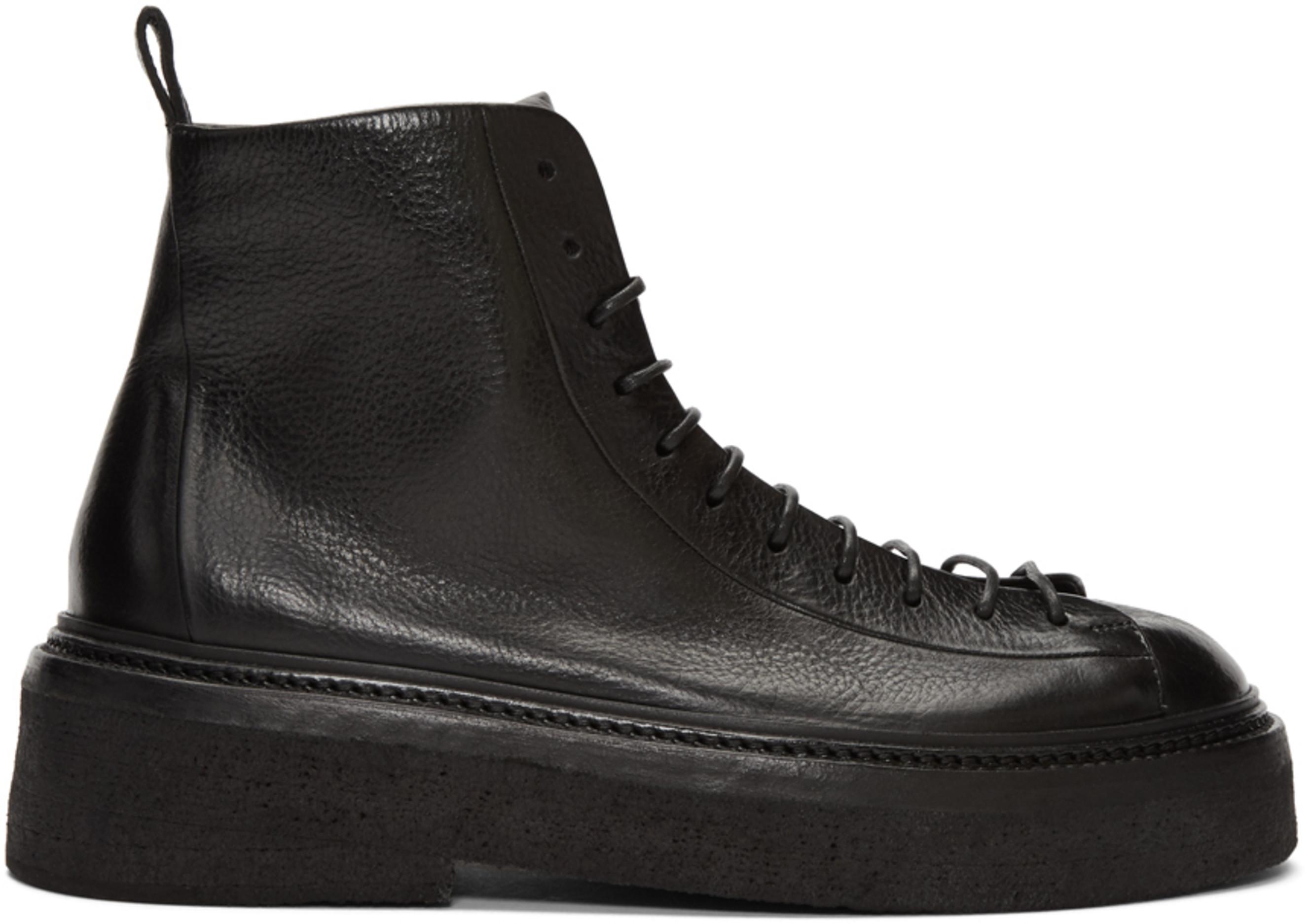 4cd1fadab7f Black Parruccona Anfibio Pedula Boots