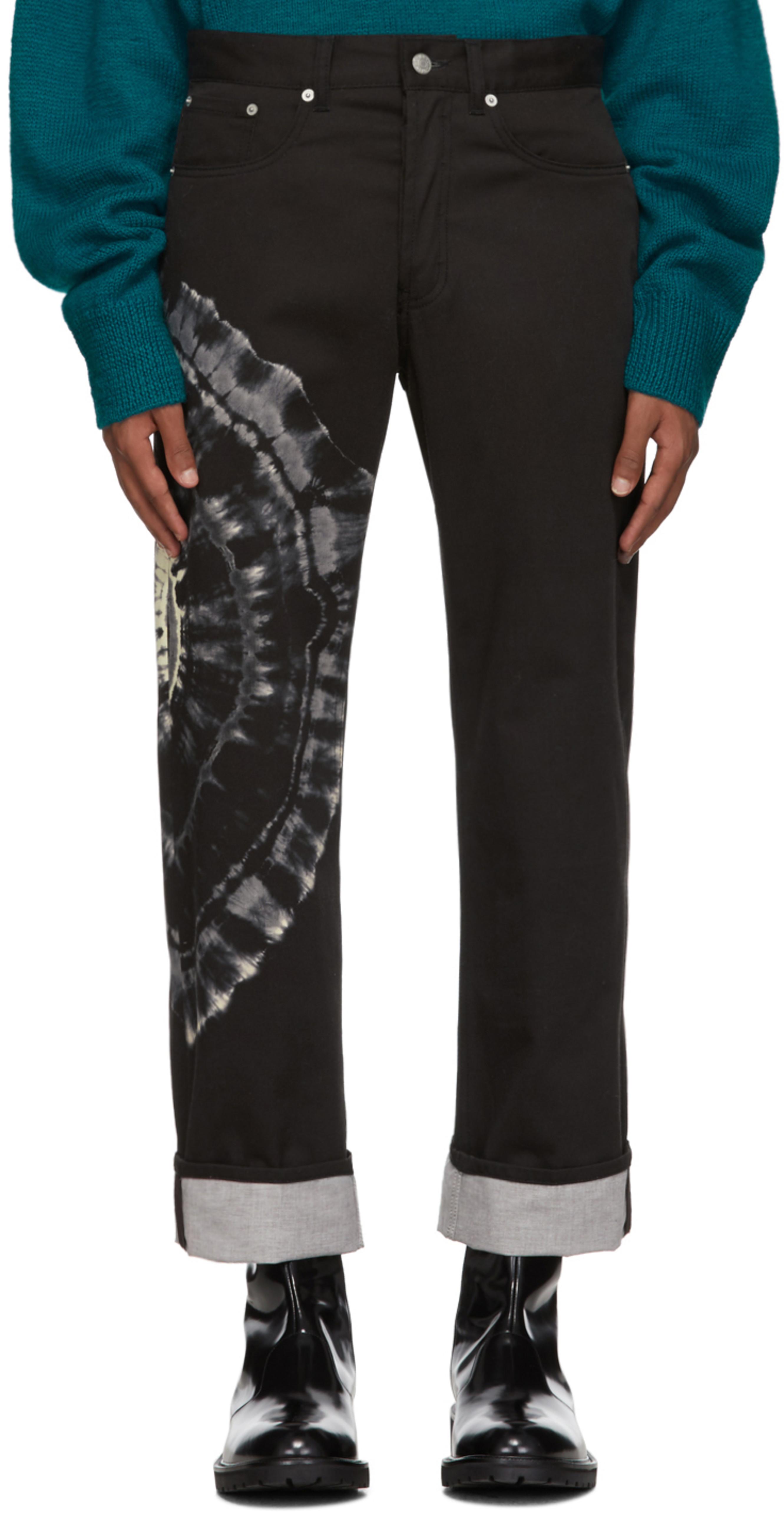 fc14eda6a41 Black Tie-Dye Panthero Jeans