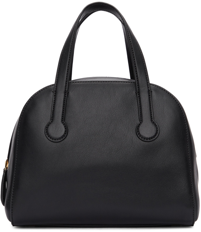 Black Sporty Bowler Bag