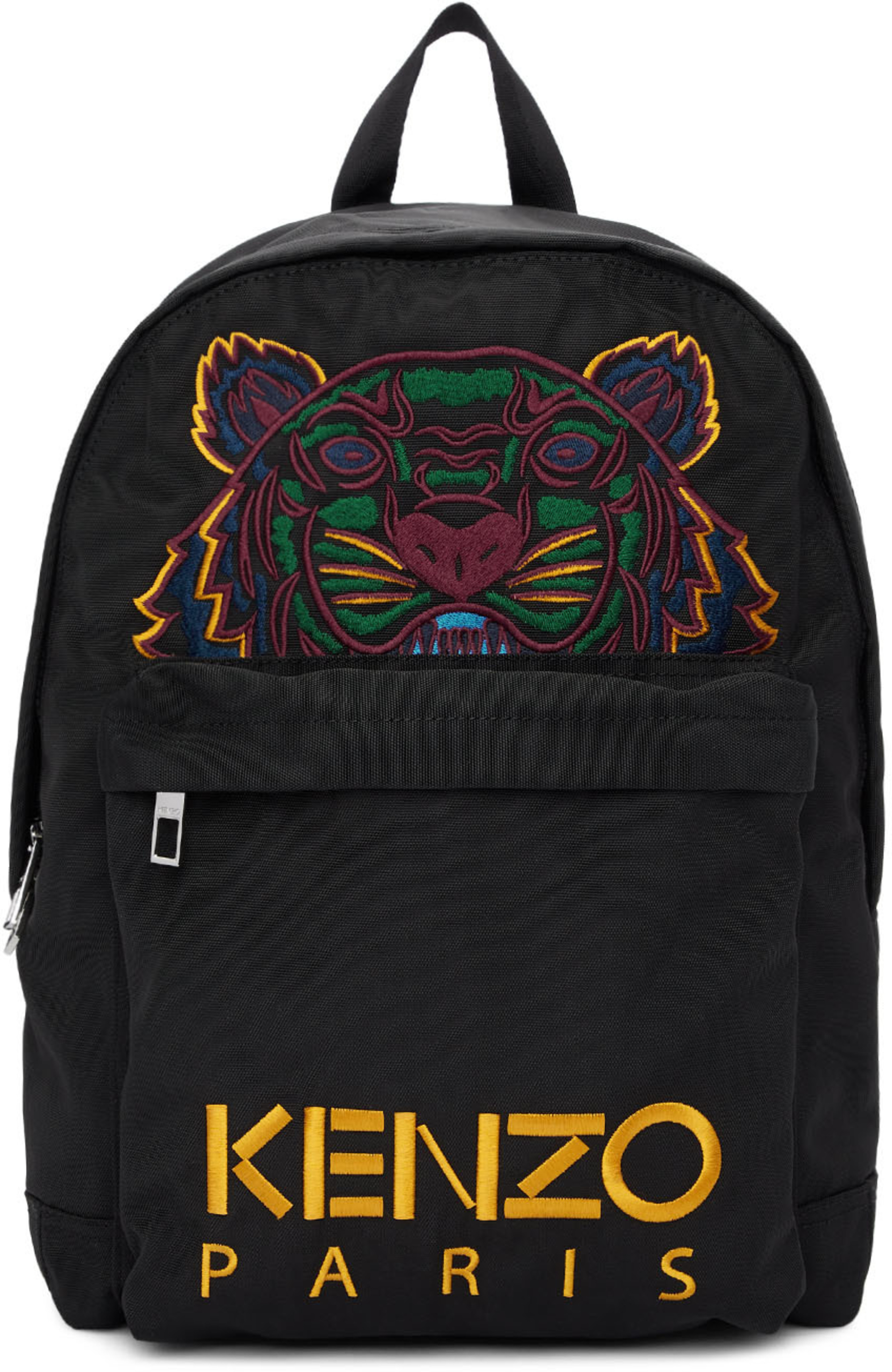 350051c3 Black Canvas Tiger Backpack