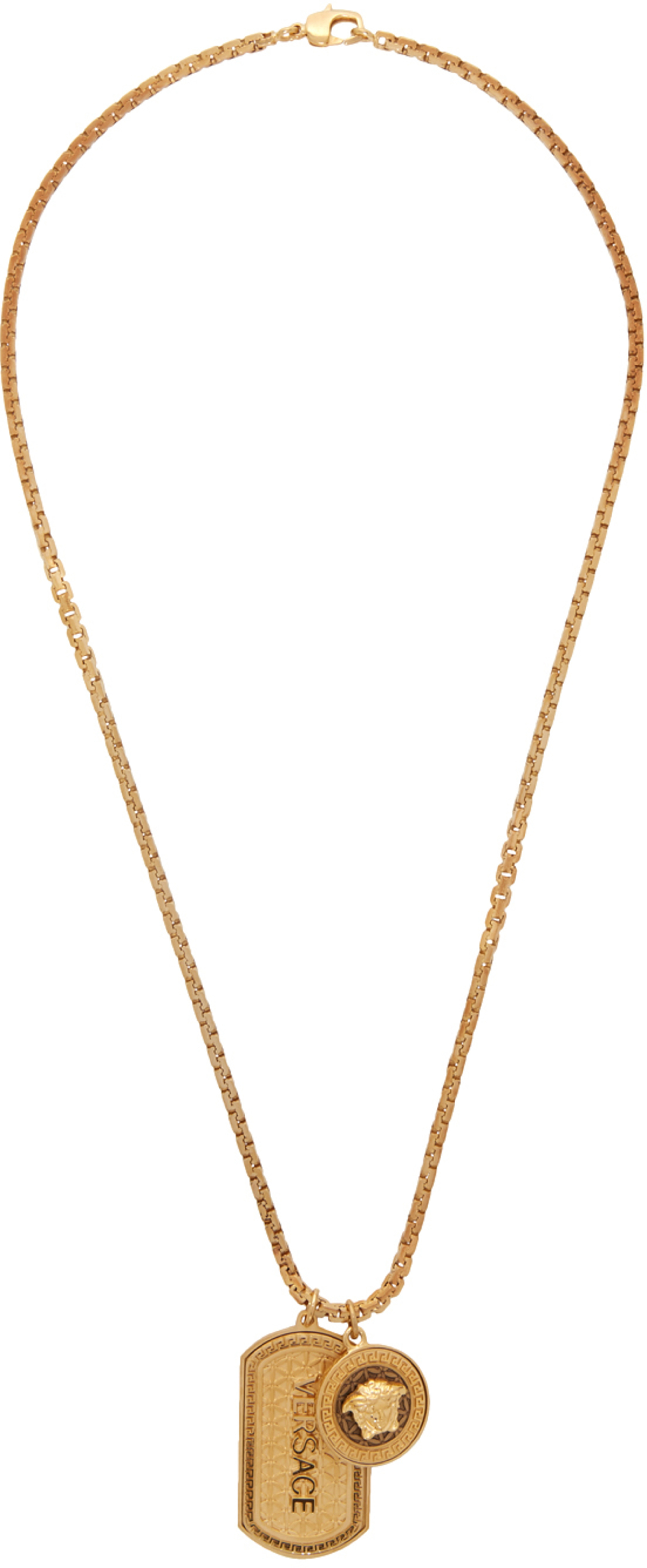 66cd1f37588905 Versace jewelry for Men | SSENSE