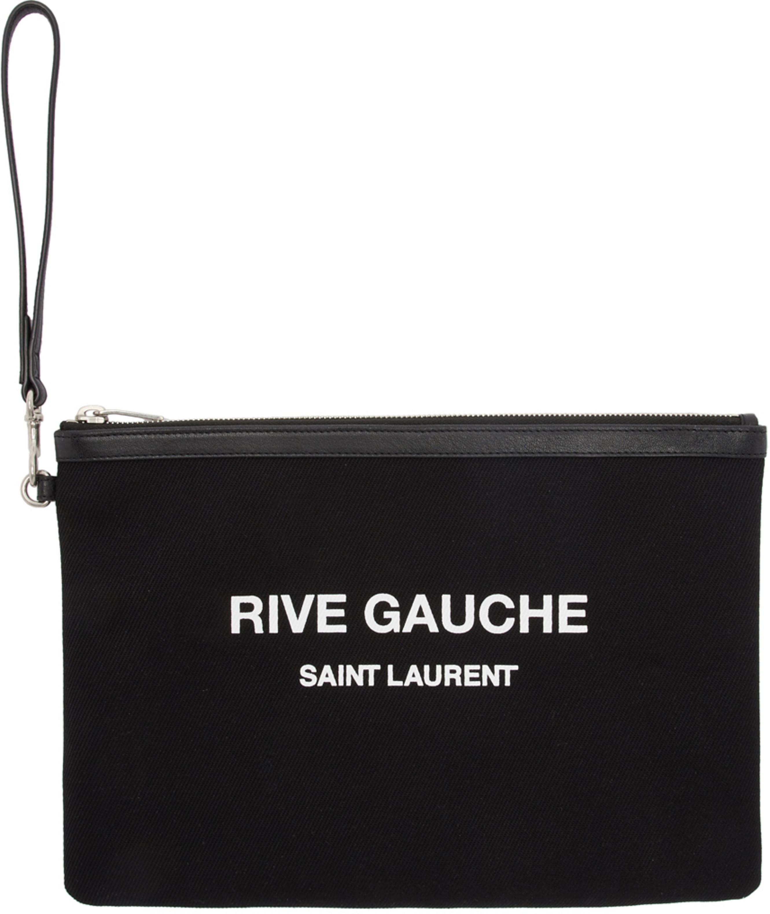 964f46b7 Black Canvas Pouch