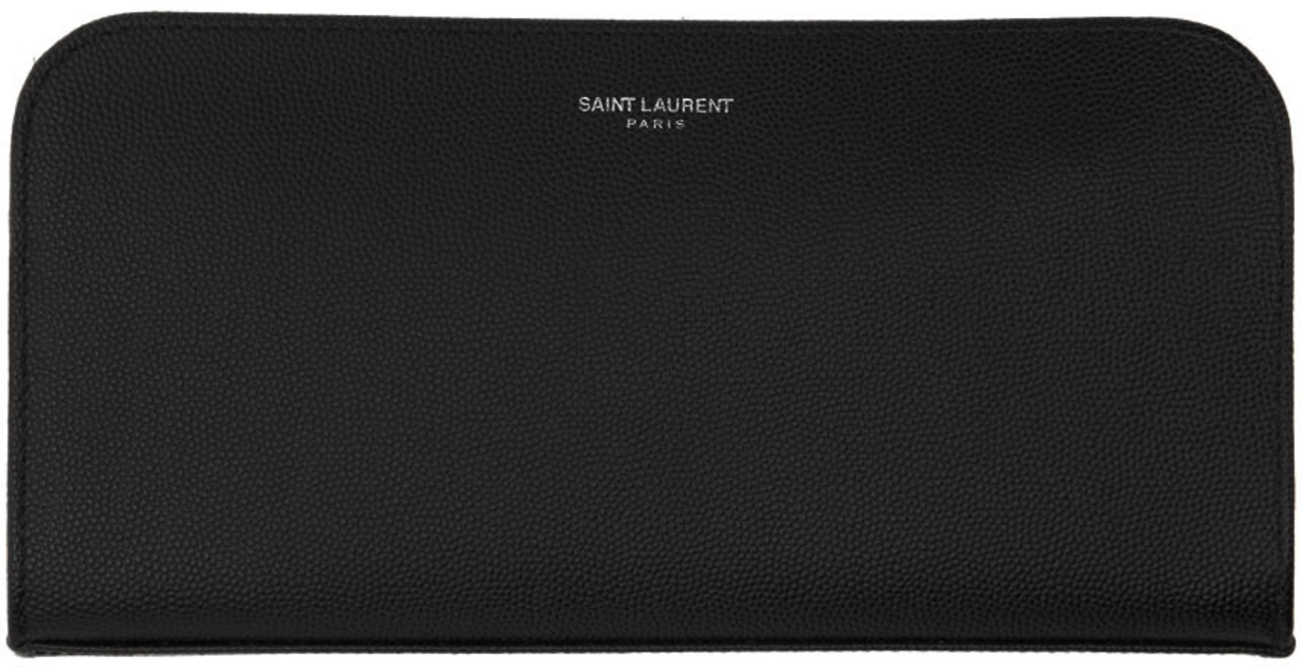 san francisco a8ecc b525d Black Logo Zip Around Wallet