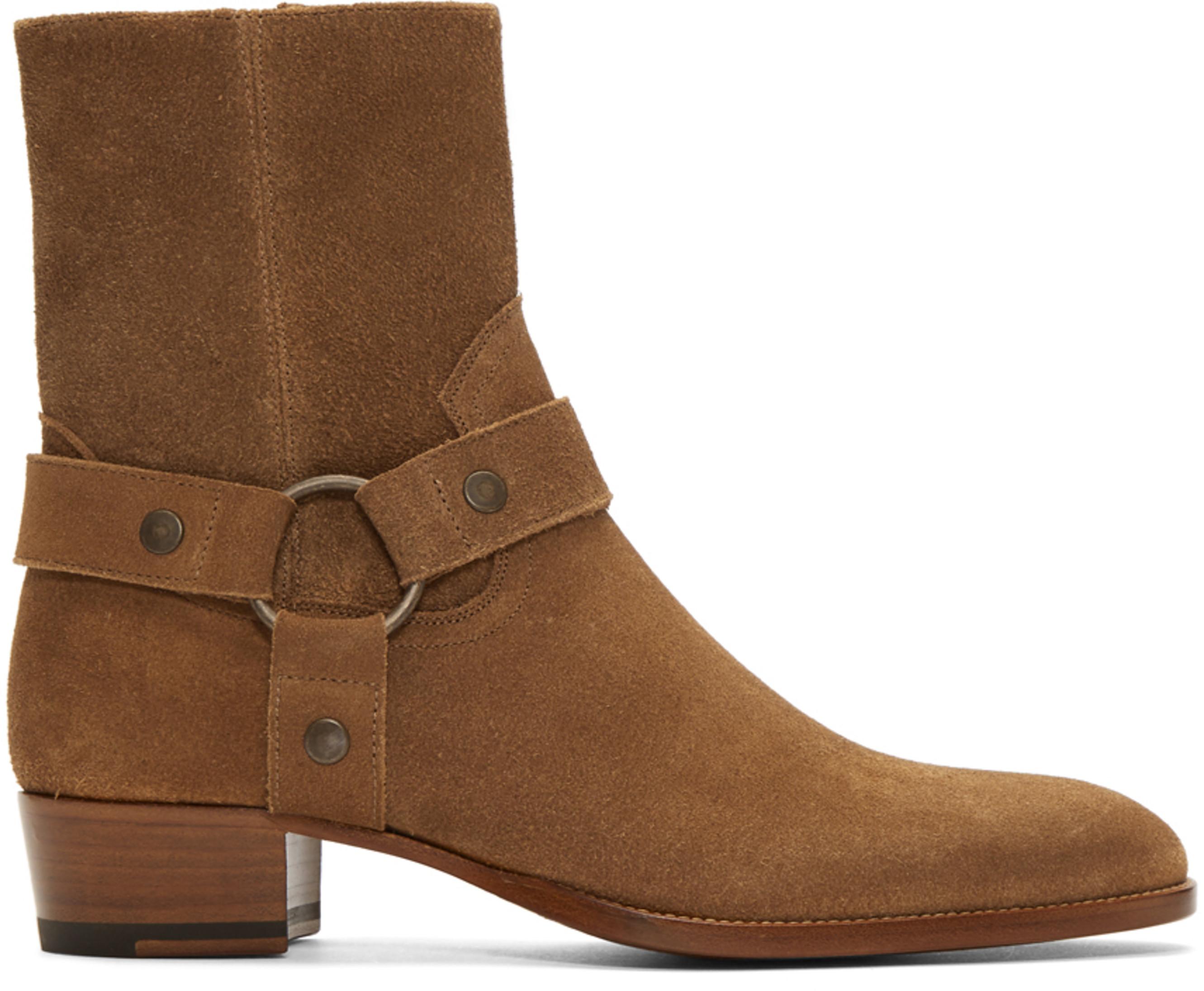 0d65d0dd Brown Suede Wyatt Boots