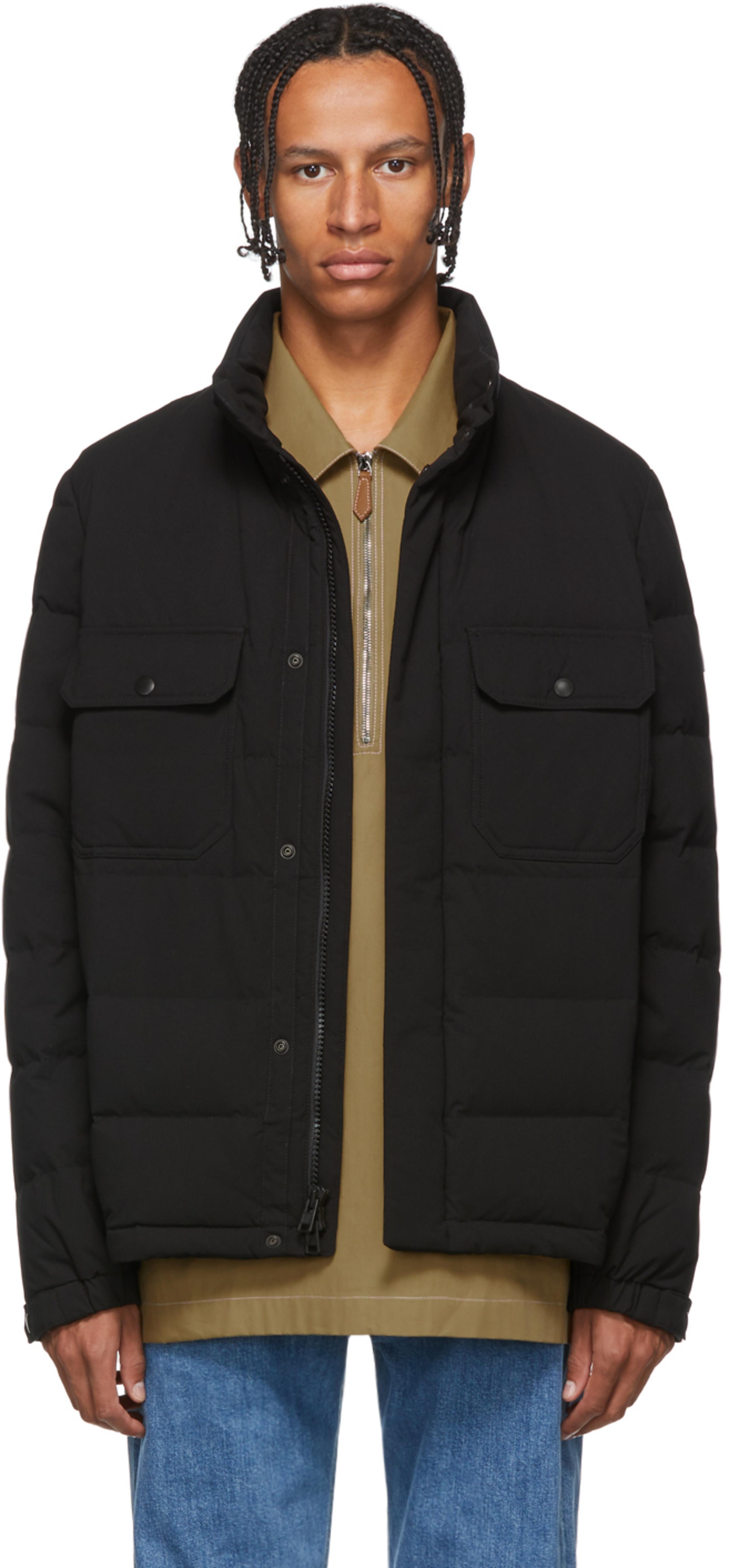 802626995 Black Down Sierra Stag Jacket