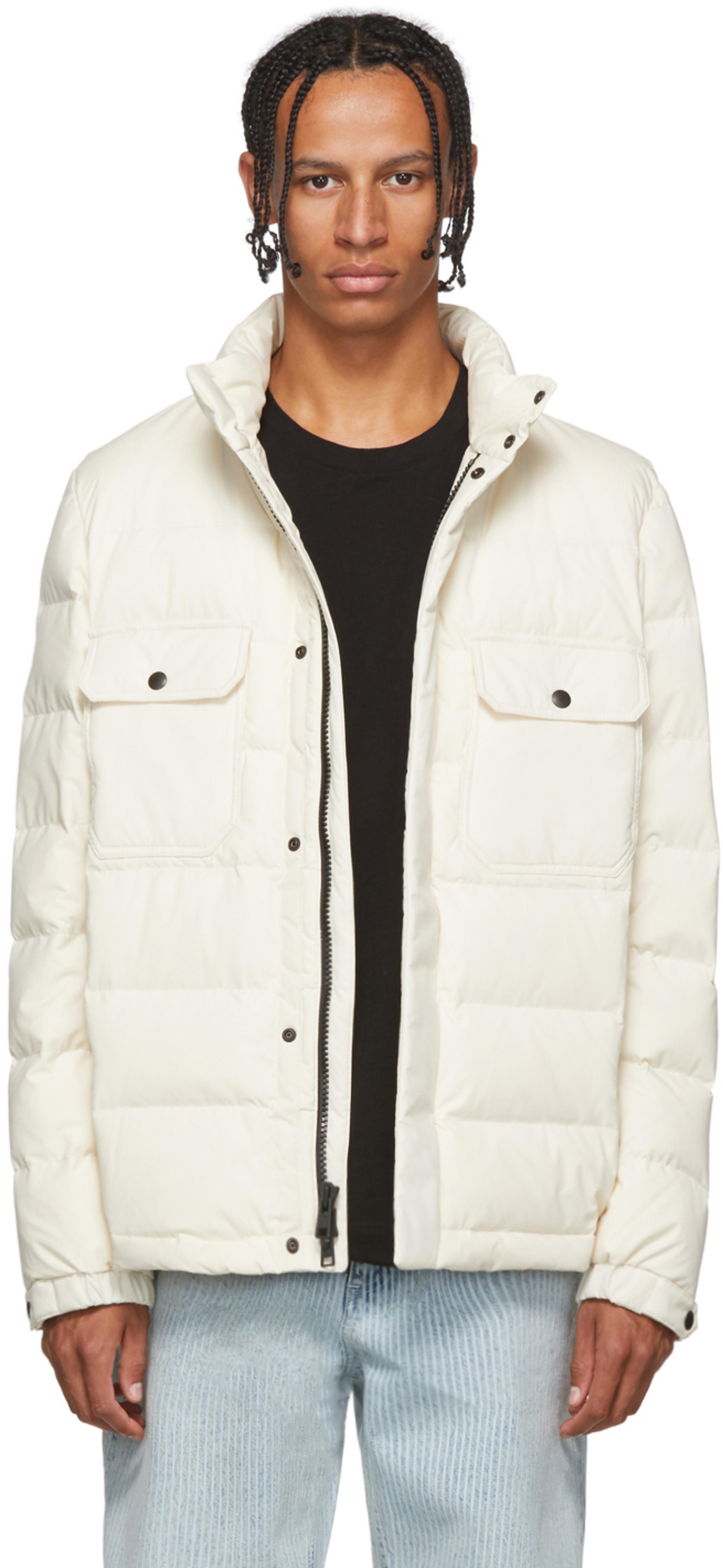 86130d5f1 White Down Sierra Stag Jacket