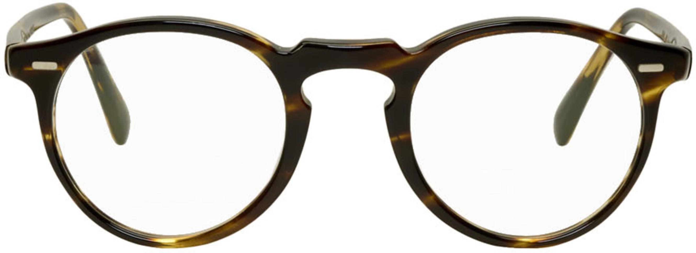 066822df7 Tortoiseshell Gregory Peck Glasses