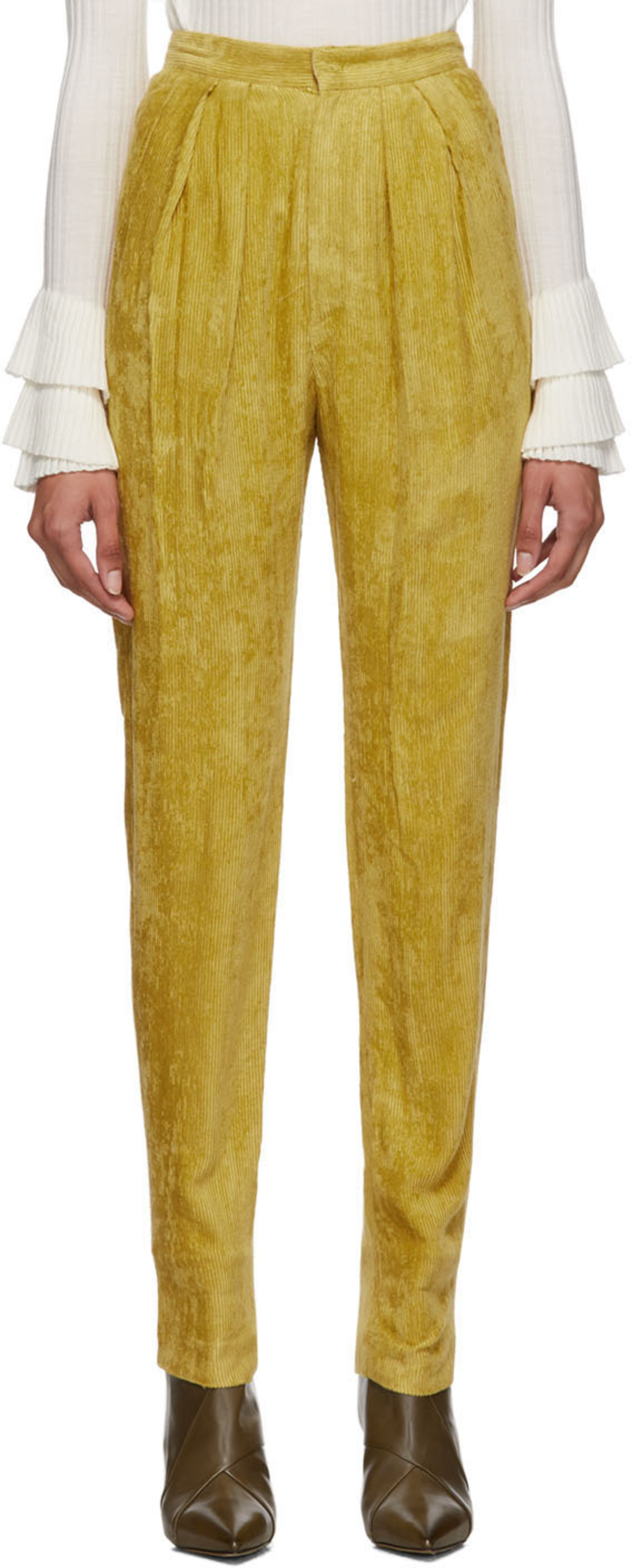 cc422533ebe Yellow Fany Pants