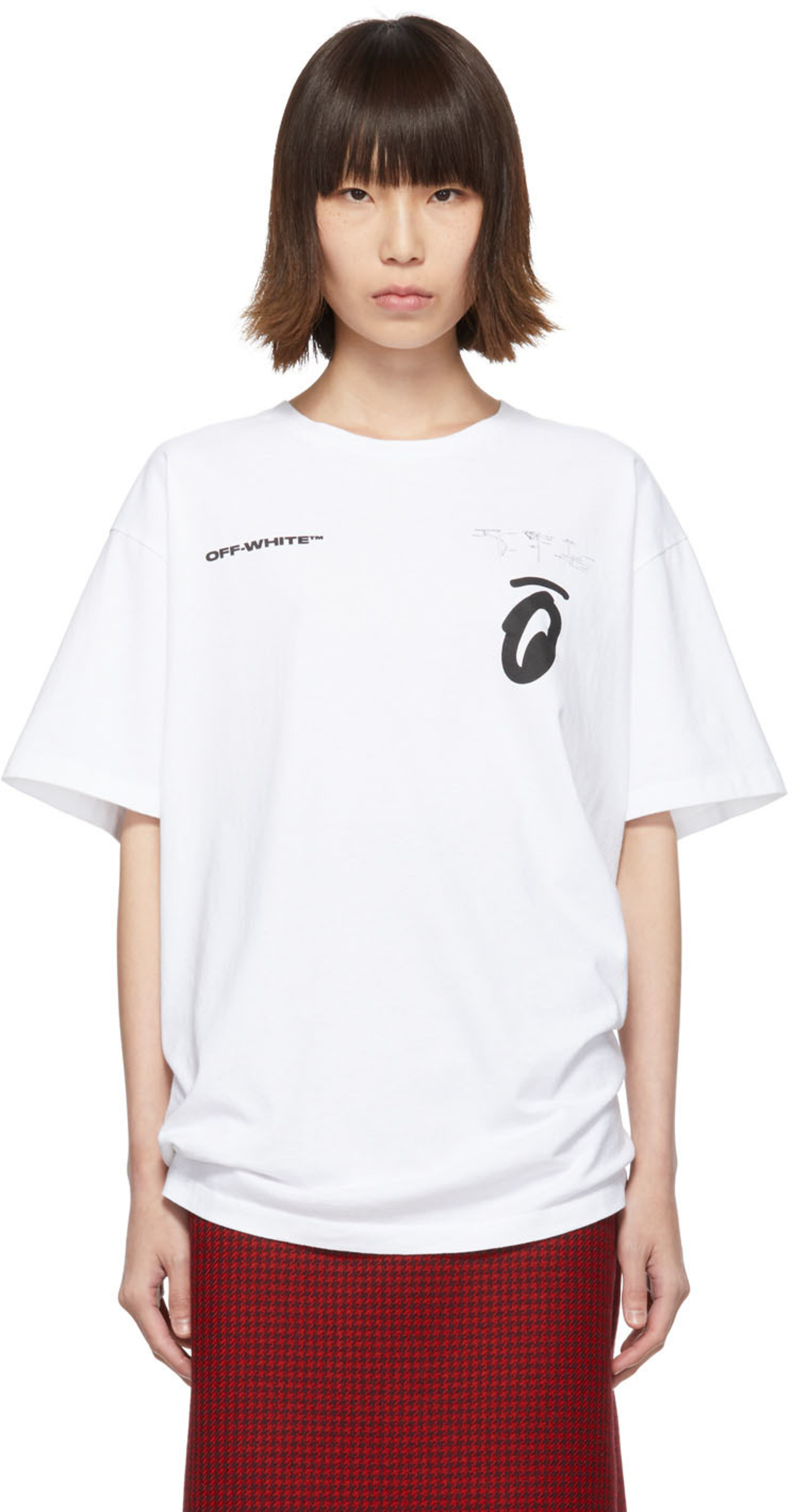 d2b18e74 Designer t-shirts for Women | SSENSE