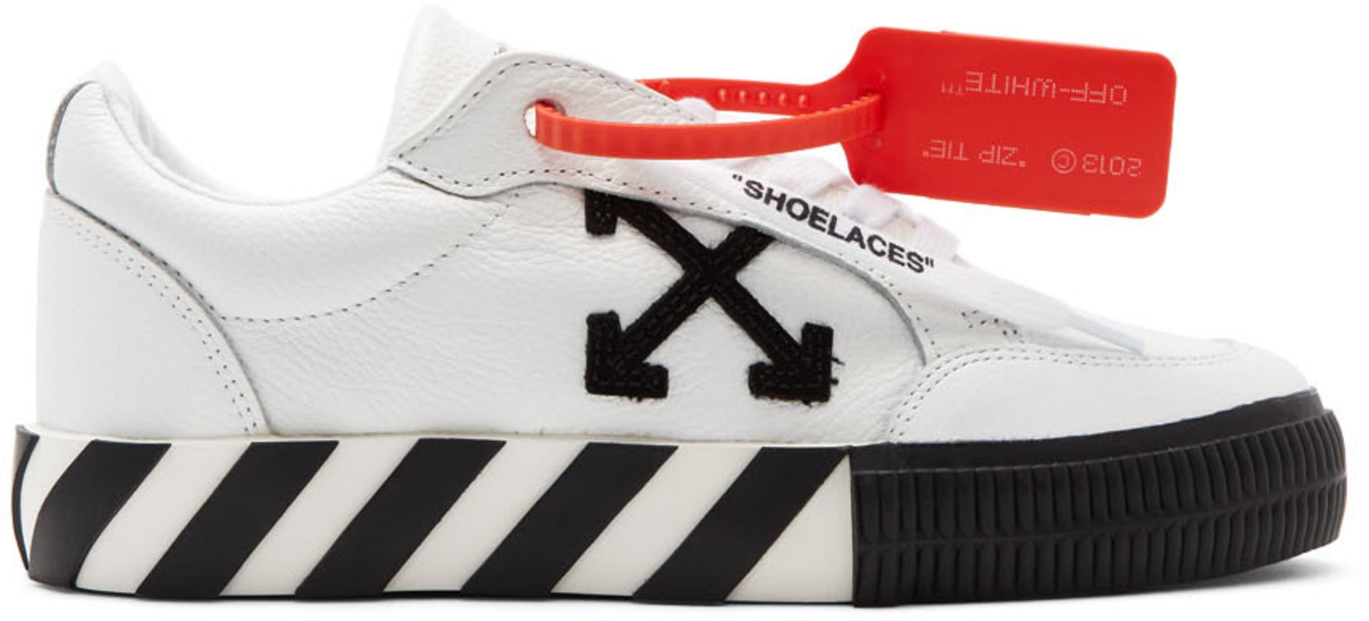 distribuidor mayorista 5984d 40d80 White Arrow Low Vulcanized Sneakers