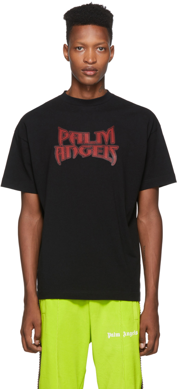 Black & Red Metal T-Shirt