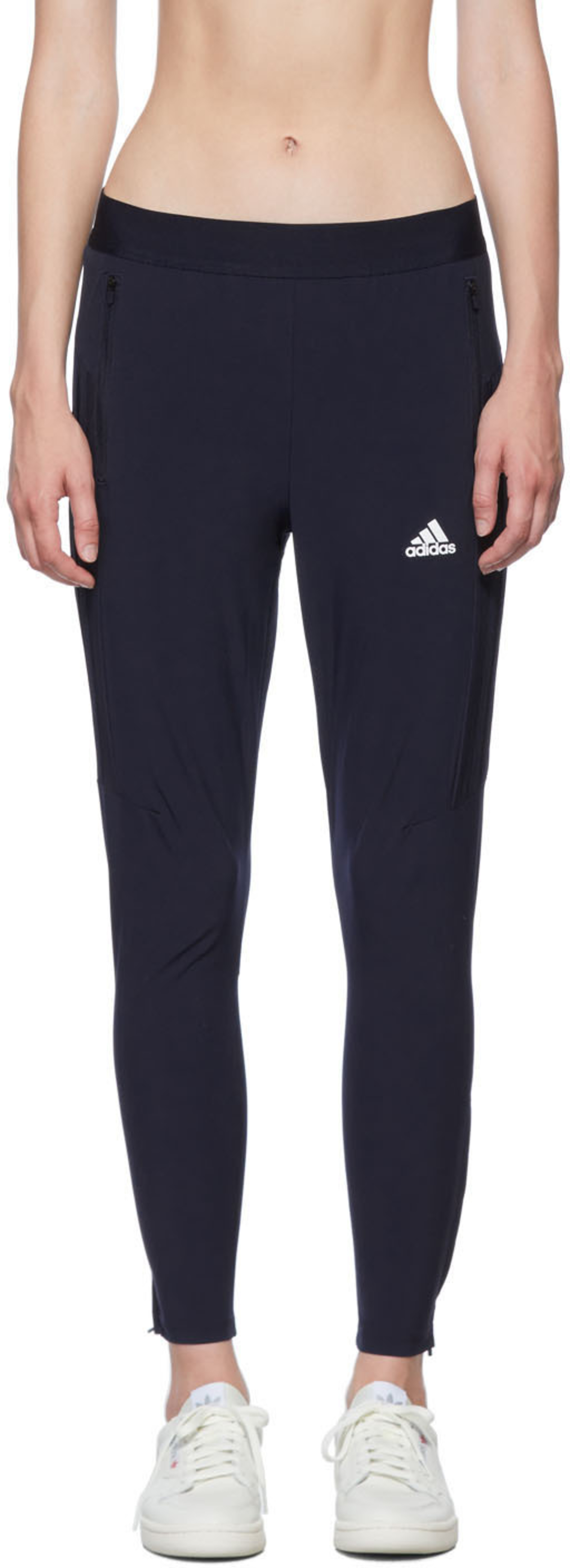 Navy 3 Stripes Training Pants