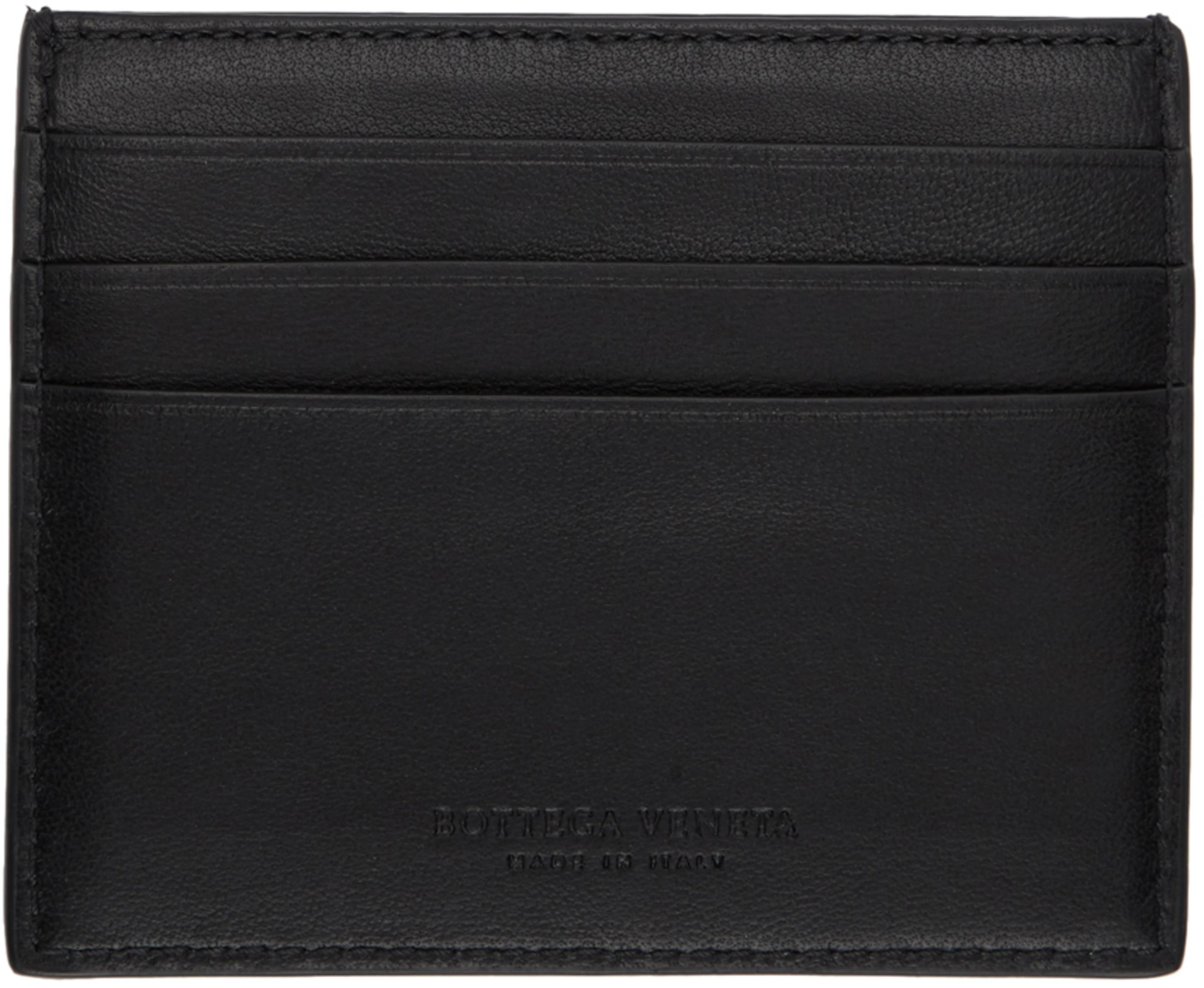 on sale 16171 f1669 SSENSE 限定 ブラック ナッパ カード ホルダー