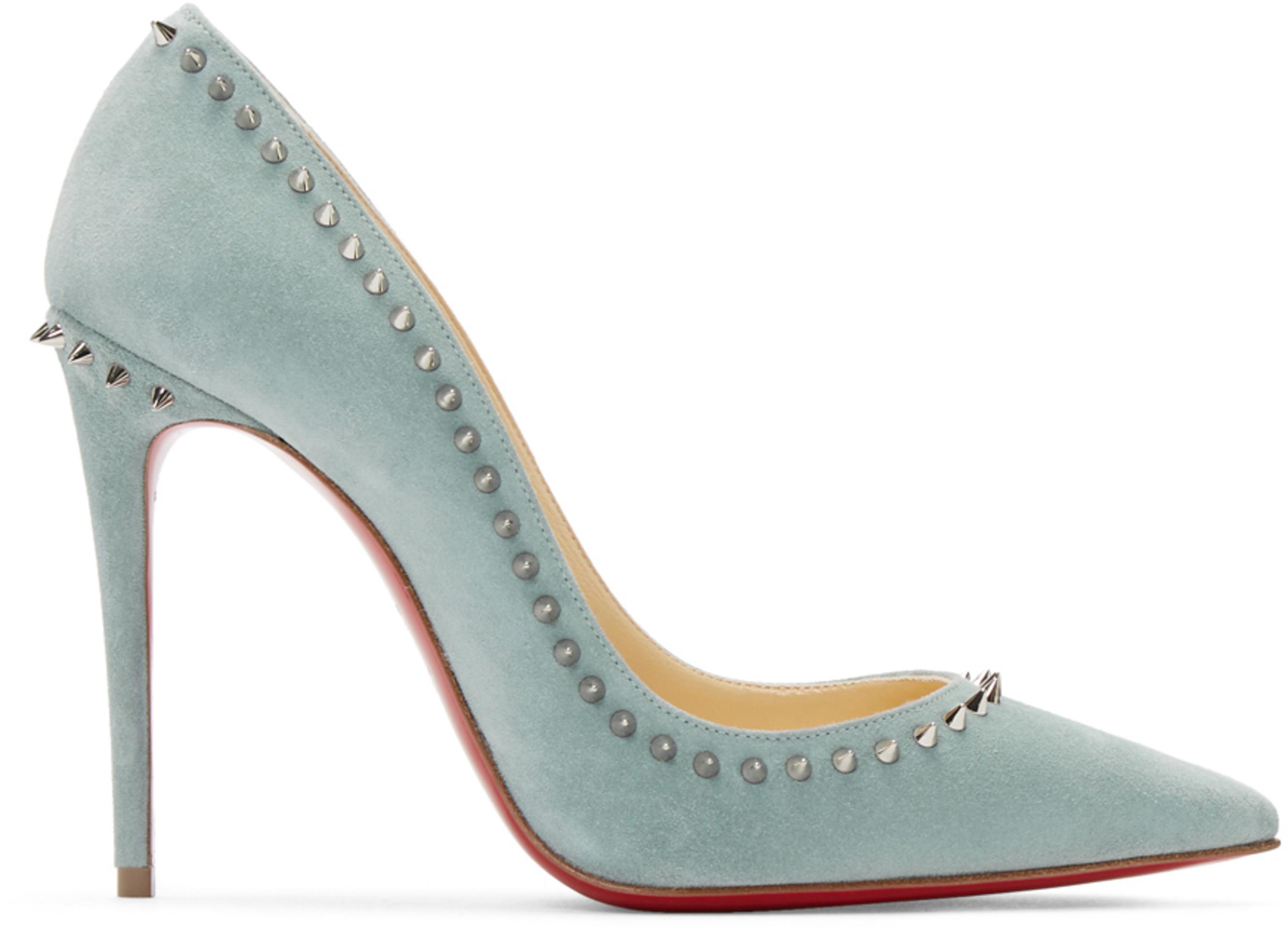 promo code 940f1 db4eb Blue Anjalina 100 Heels