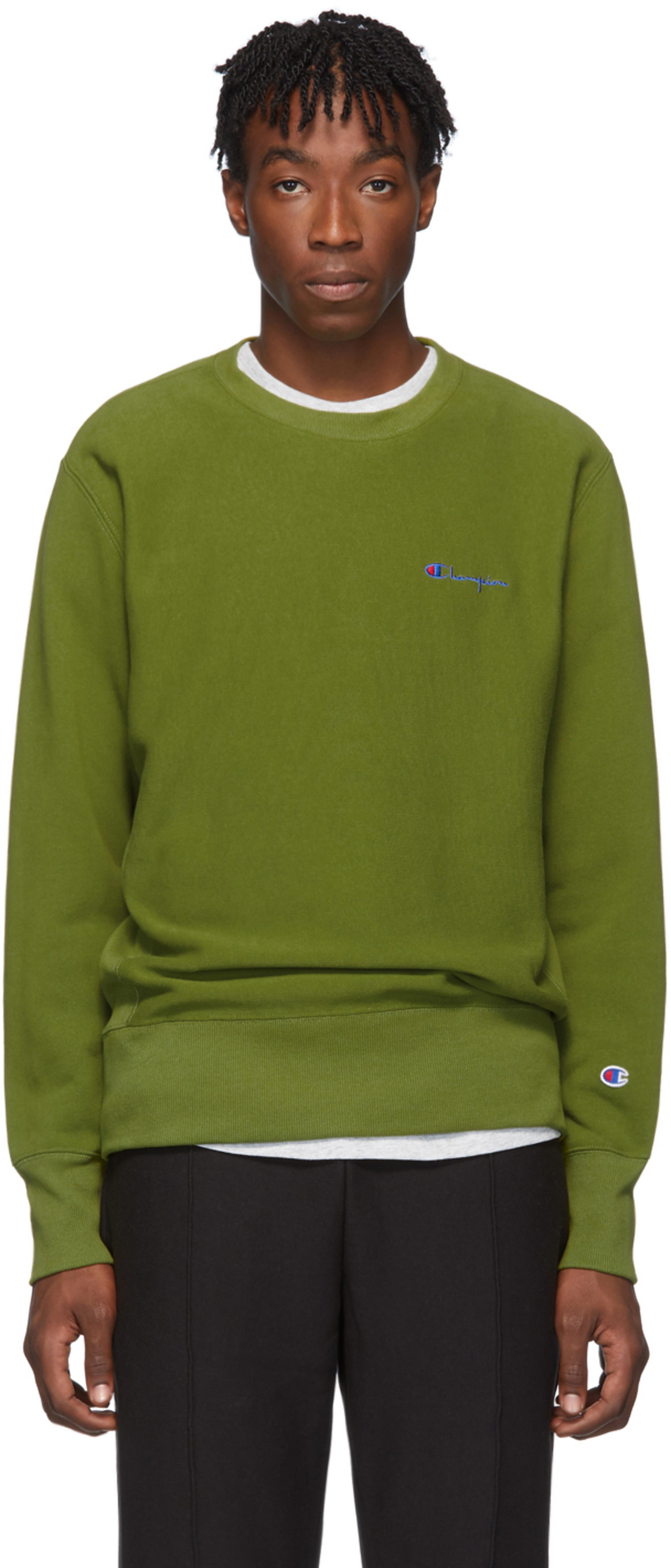 0fac45012a Green Small Script Sweatshirt