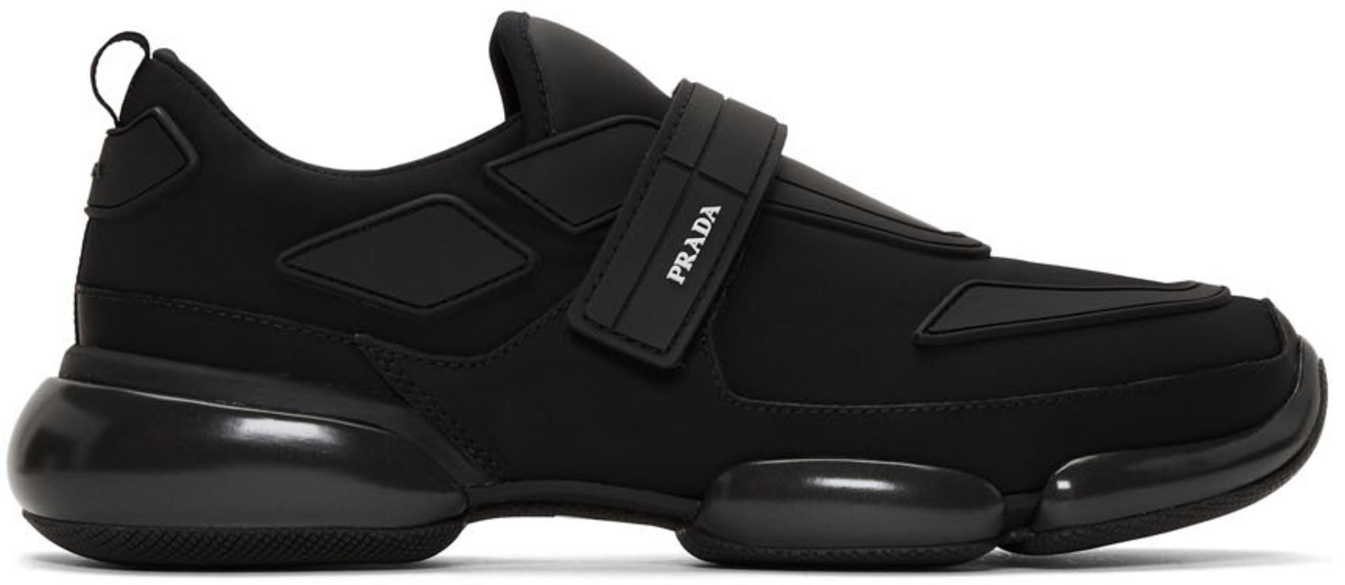 huge discount 7112d ca190 Black Gabardine Cloudbust Sneakers