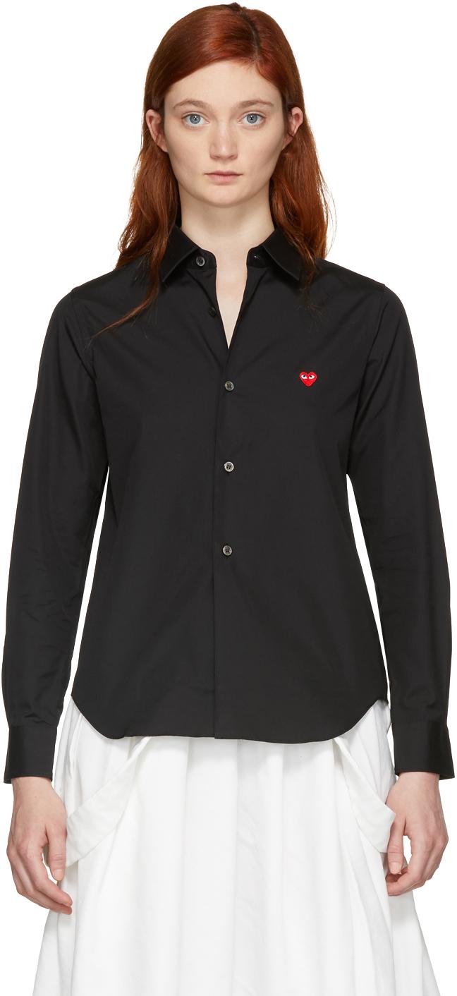 Black Small Heart Shirt