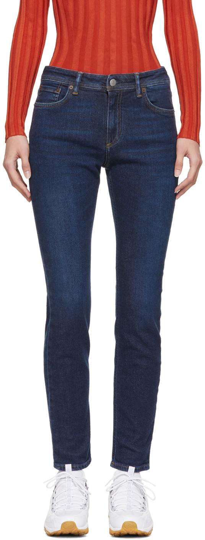 Acne Studios Blue Blå Konst Climb Jeans 181129F069025
