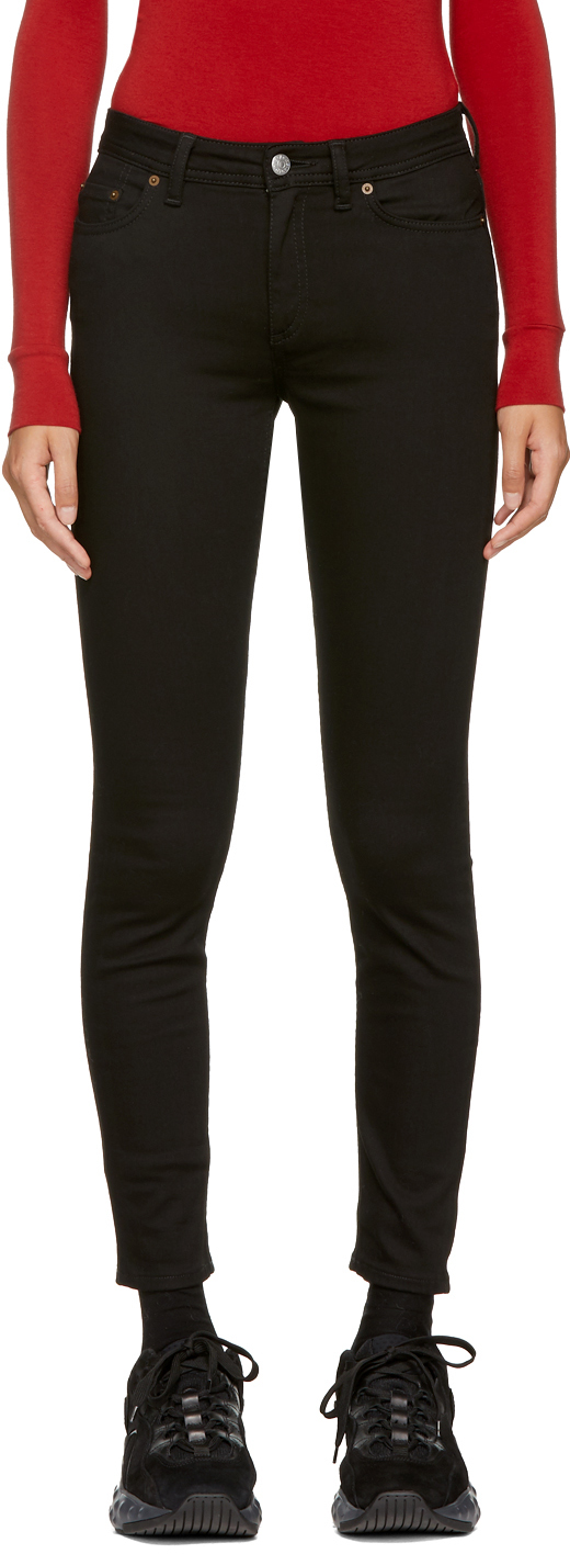 Acne Studios Black Blå Konst Climb Jeans 182129F069005