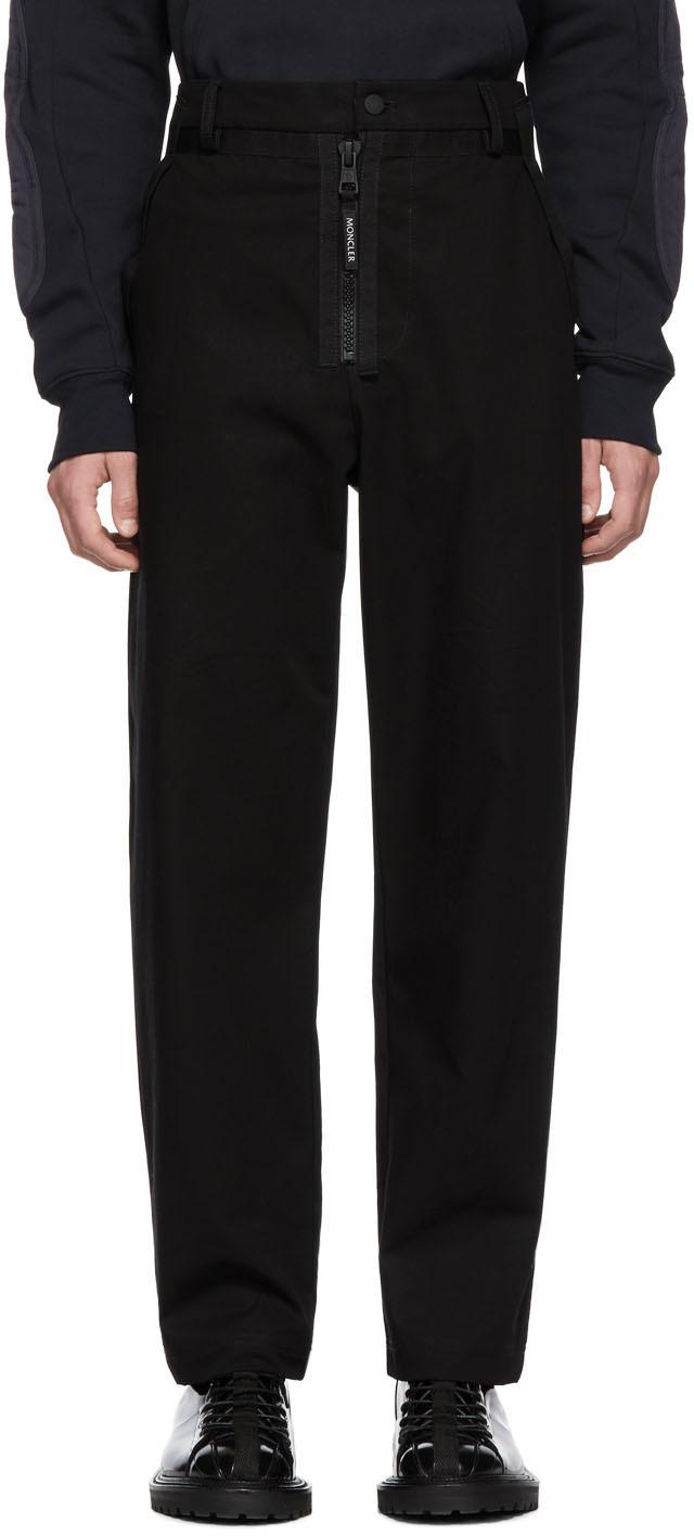 5 Moncler Craig Green Black Cotton Trousers