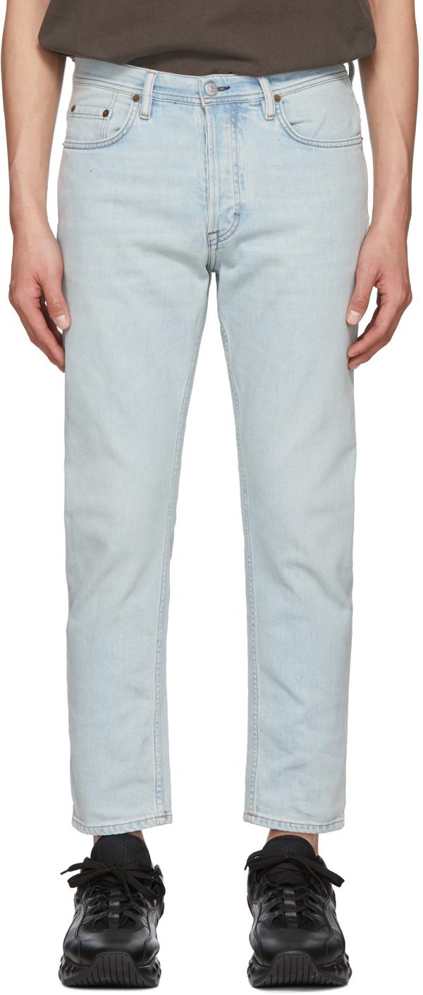 Acne Studios Blue Blå Konst River Jeans 191129M186010