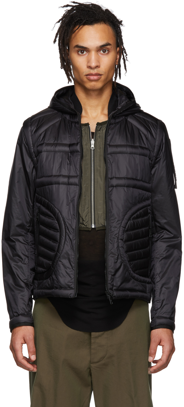 5 Moncler Craig Green Black Down Apex Jacket