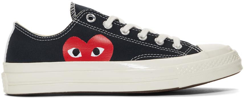 黑色 Converse 联名 Half Heart Chuck 70 运动鞋
