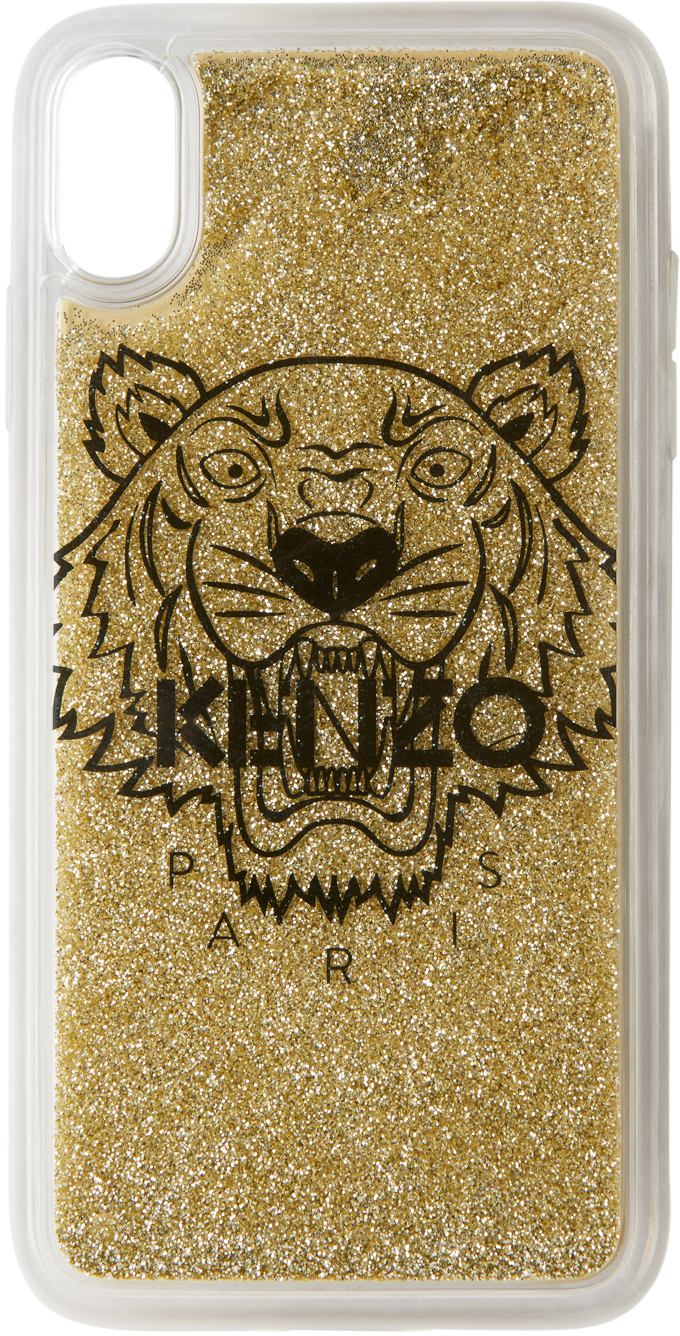 Gold Tiger iPhone X+ Case