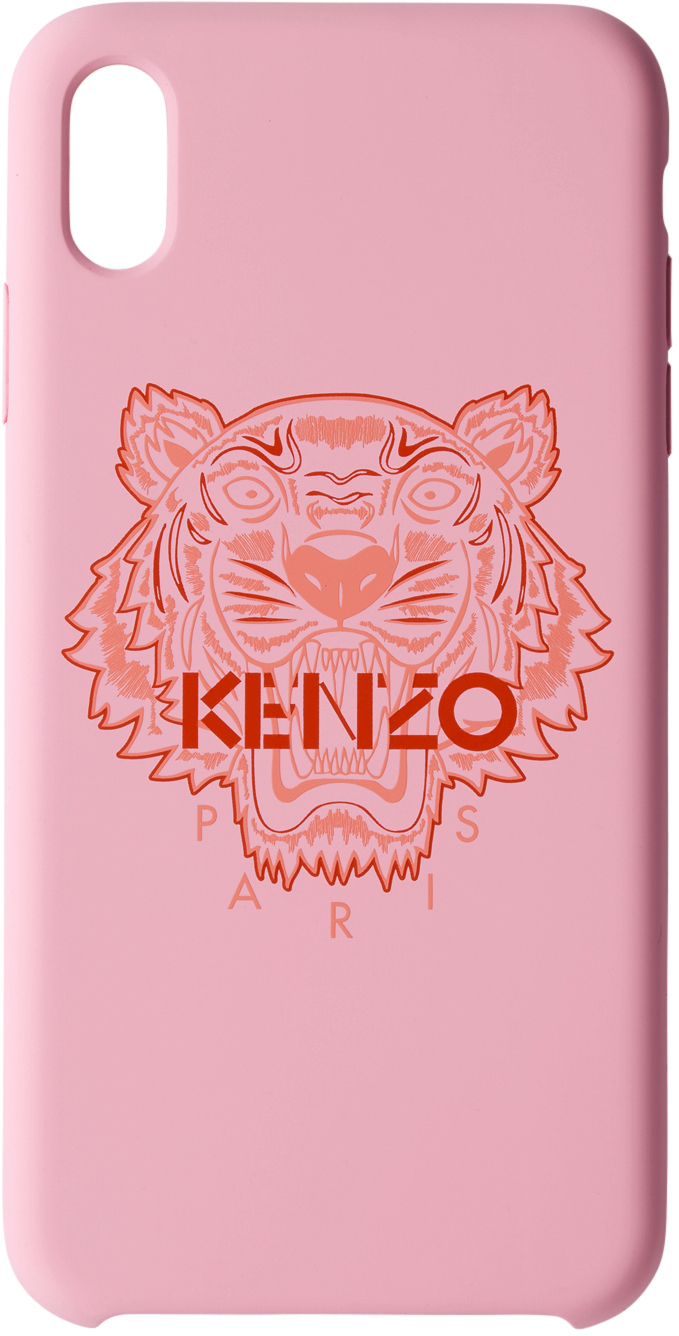 Pink & Red Tiger iPhone X+ Case