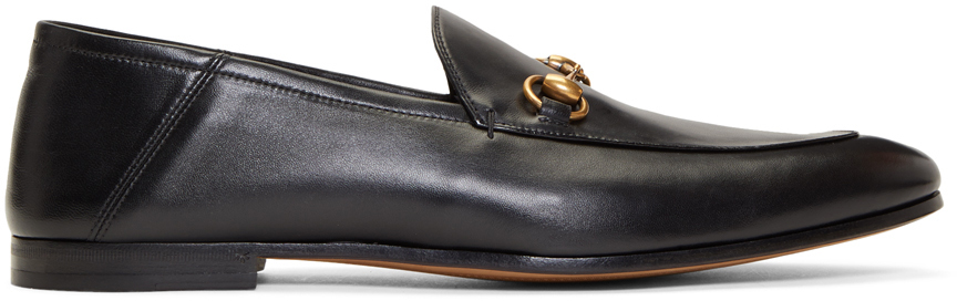 Gucci 黑色 Brixton 乐福鞋