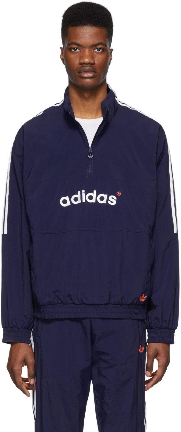 adidas Originals: Navy Archive Sweatshirt | NOMU