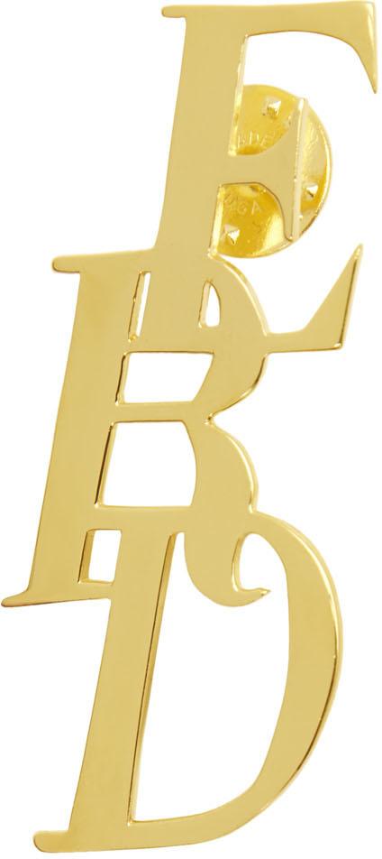 Gold Logo Pin