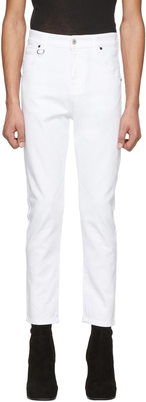 Random Identities 白色 I Bless The 60's 牛仔裤
